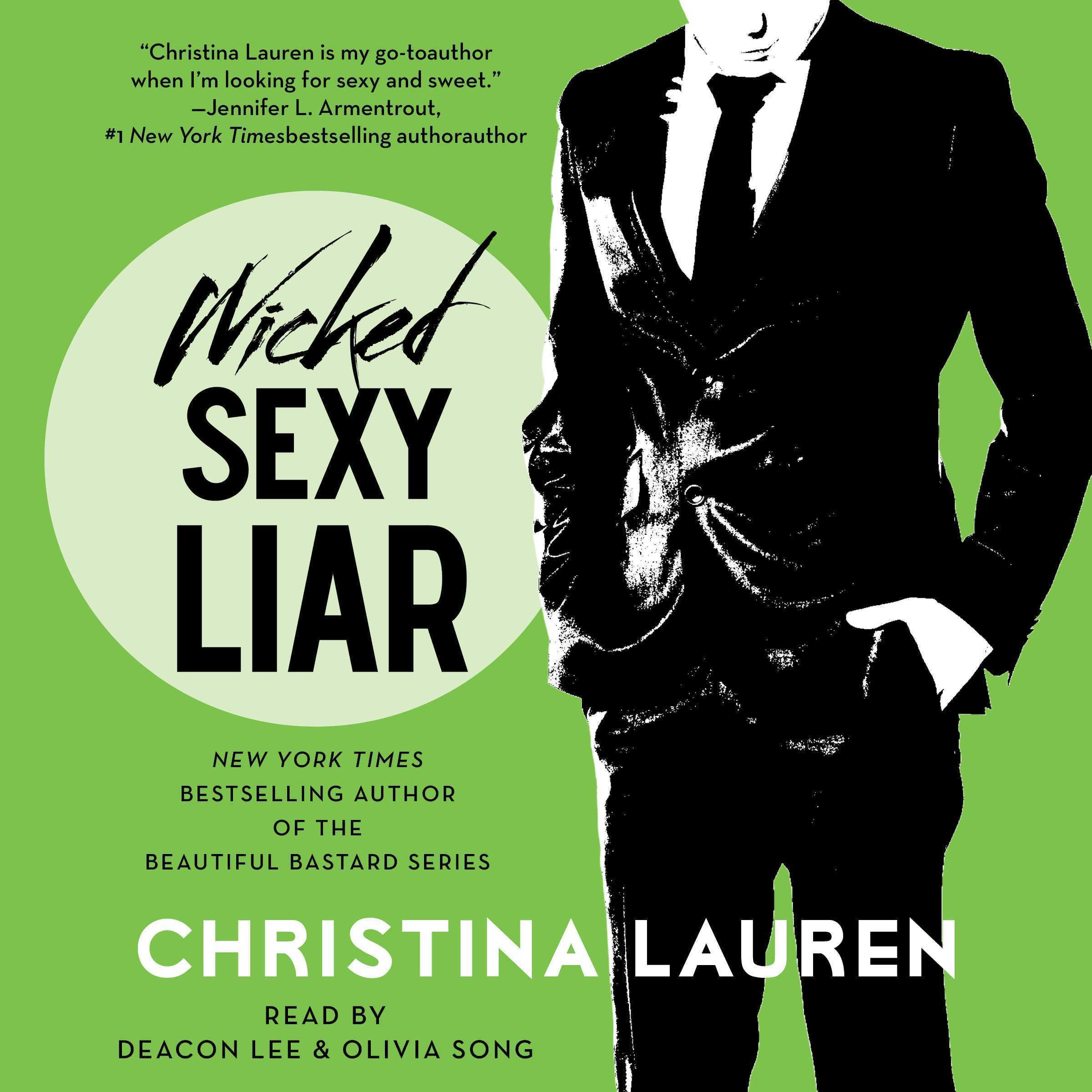 Printable Wicked Sexy Liar Audiobook Cover Art