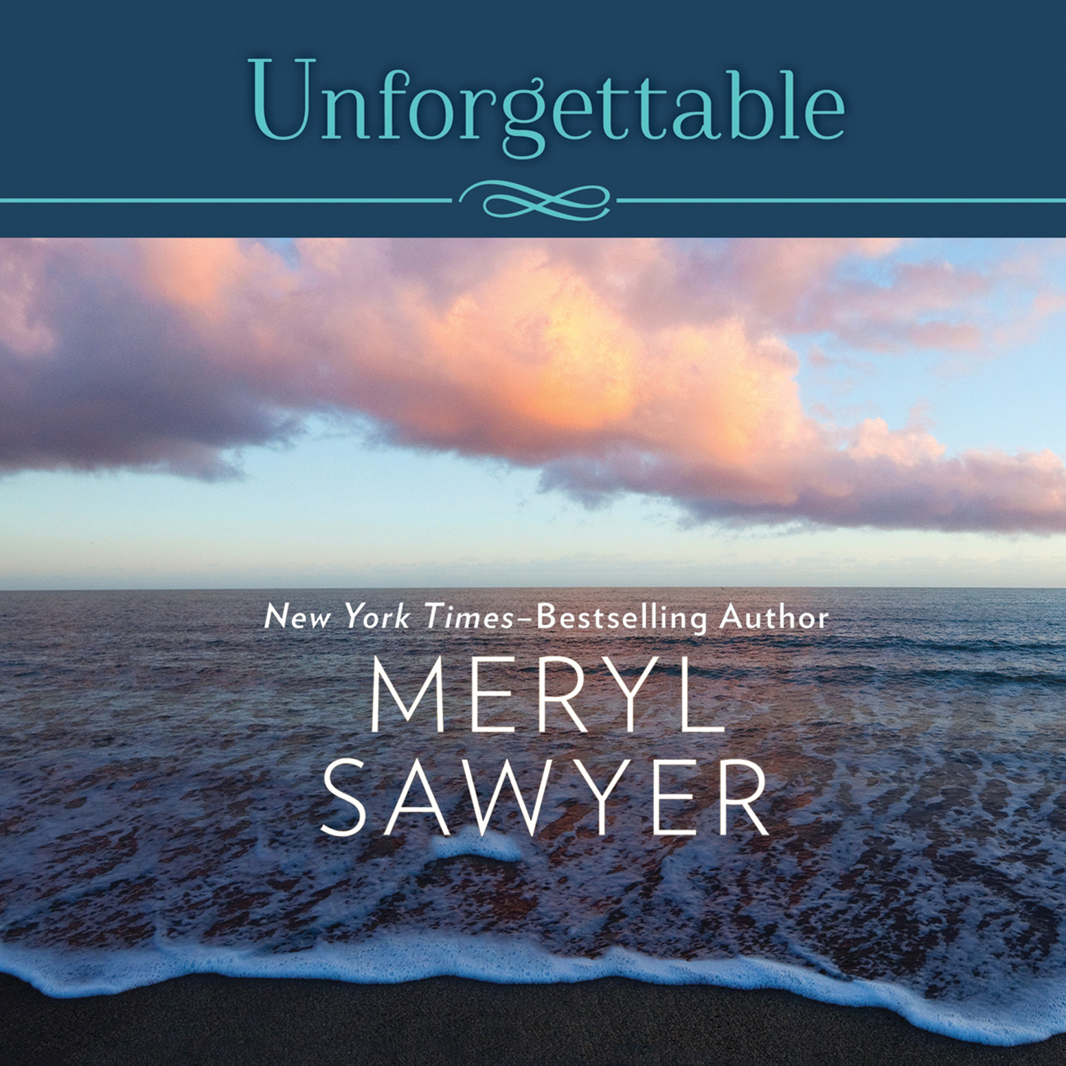 Printable Unforgettable Audiobook Cover Art
