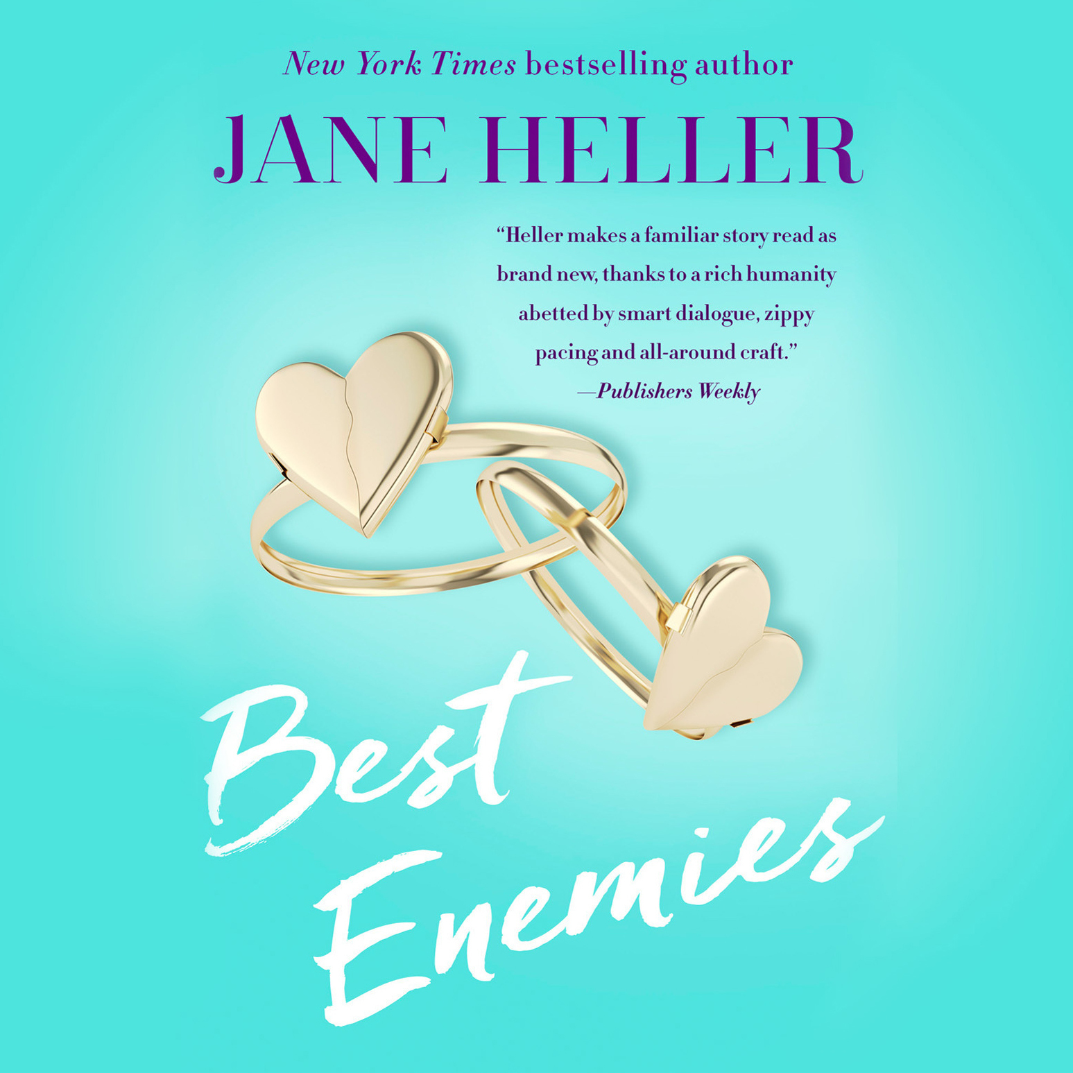 Printable Best Enemies Audiobook Cover Art