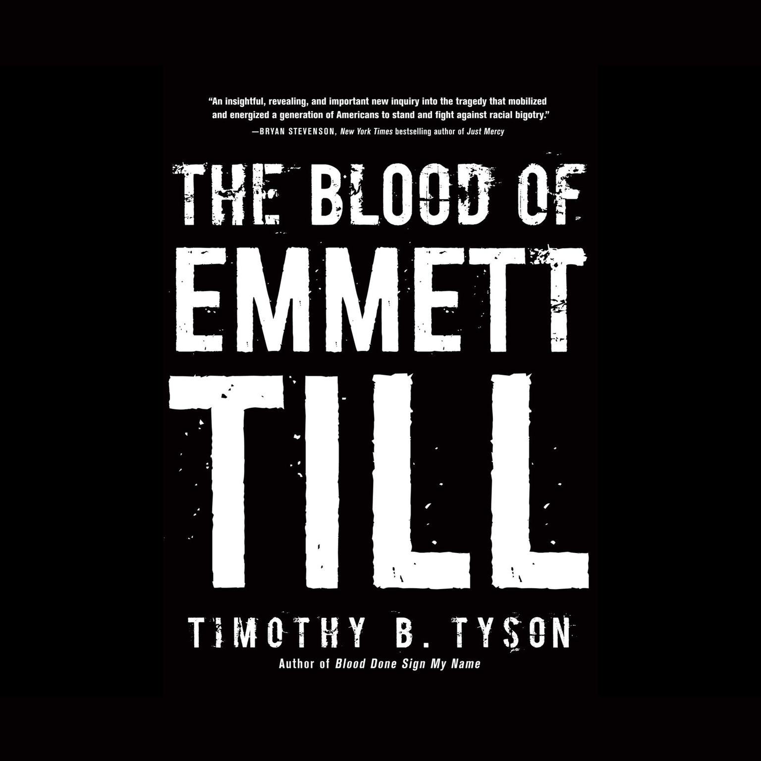 Printable The Blood of Emmett Till Audiobook Cover Art