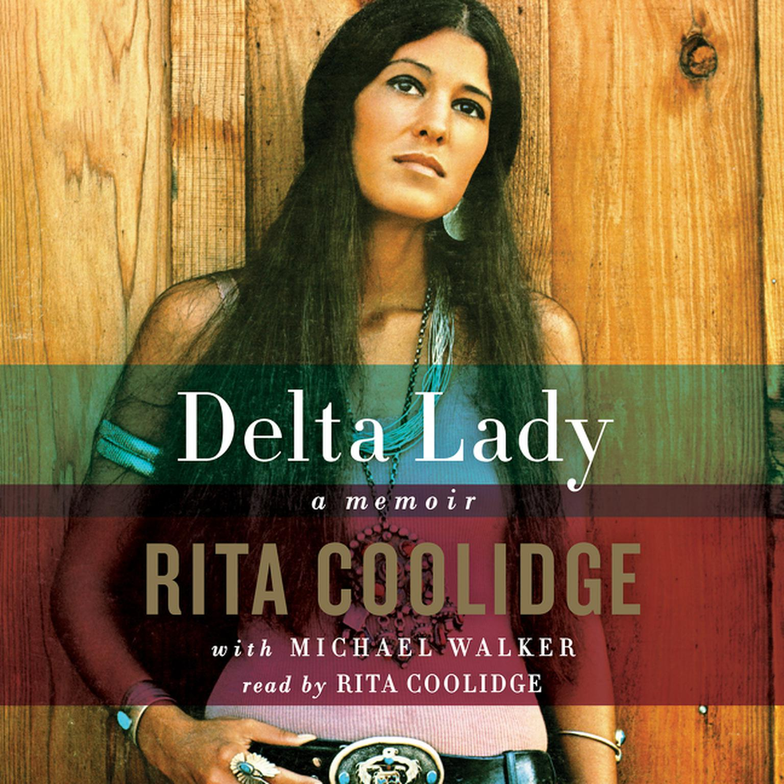 Printable Delta Lady: Memoir Audiobook Cover Art