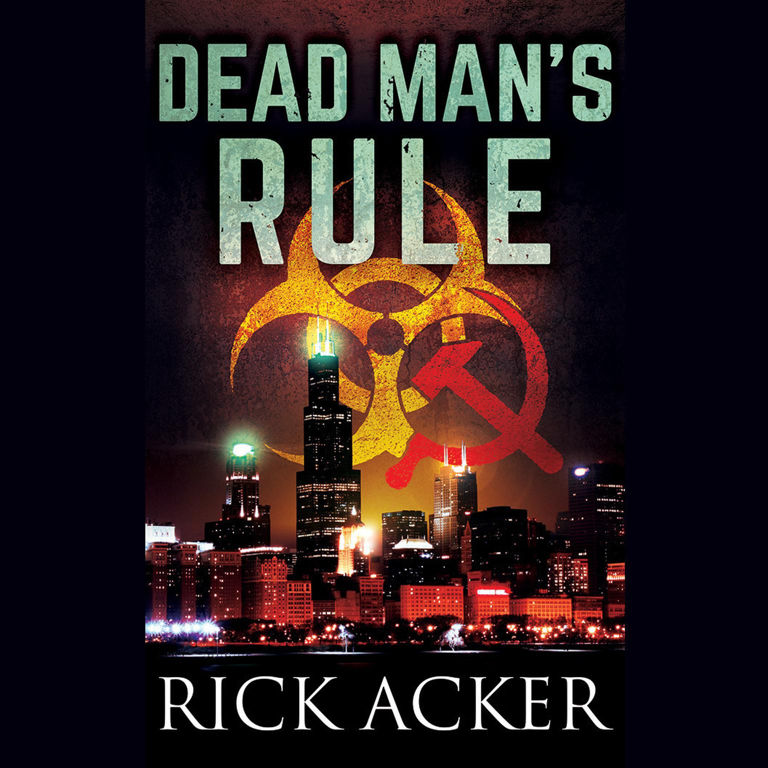 Printable Dead Man's Rule Audiobook Cover Art