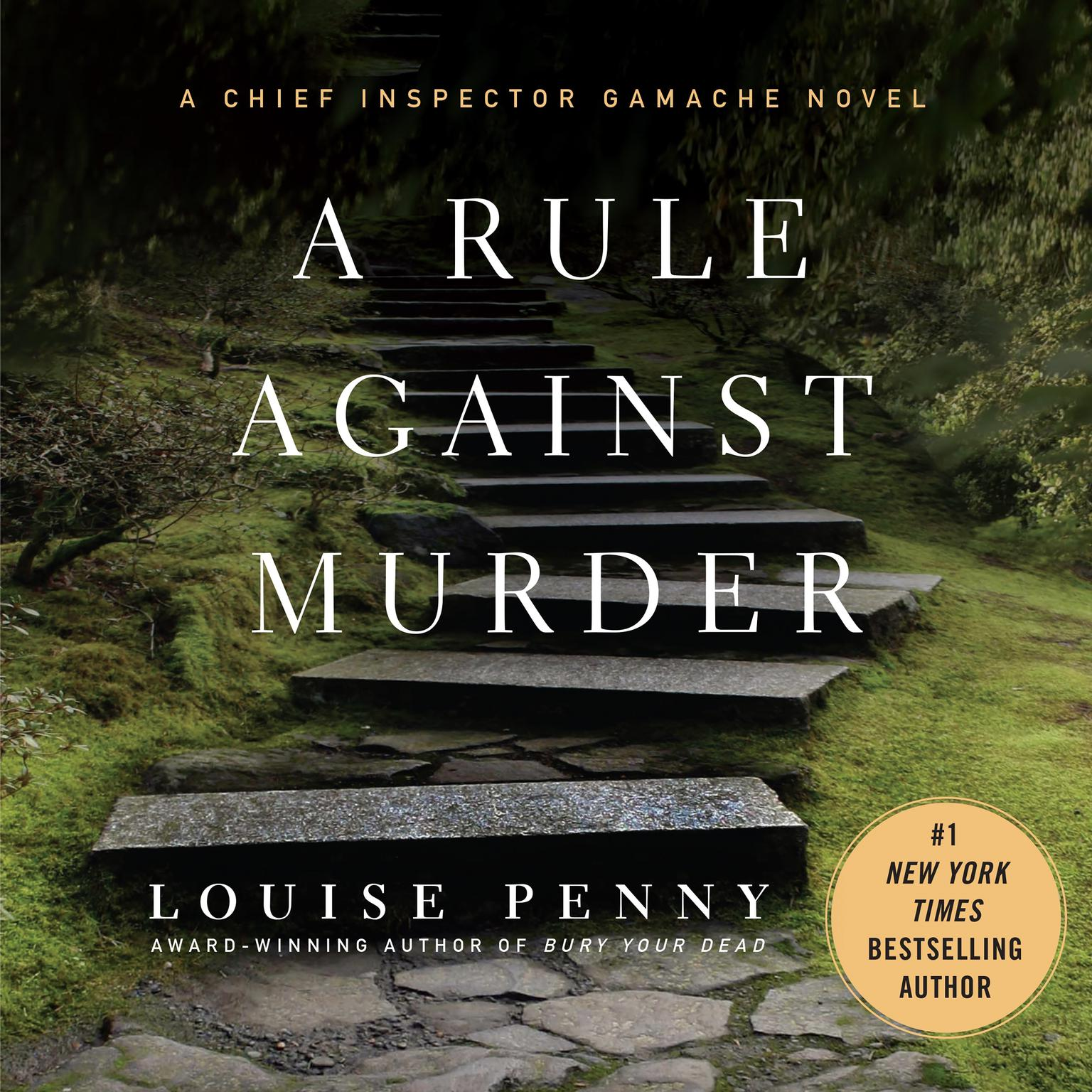Printable A Rule Against Murder: A Chief Inspector Gamache Novel Audiobook Cover Art