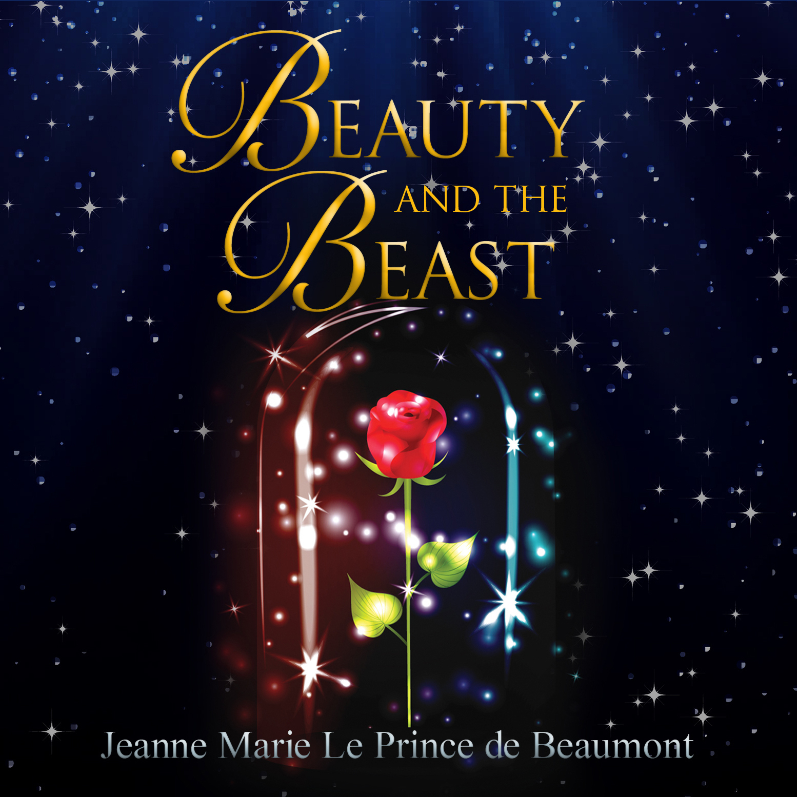 Printable Beauty and the Beast Audiobook Cover Art
