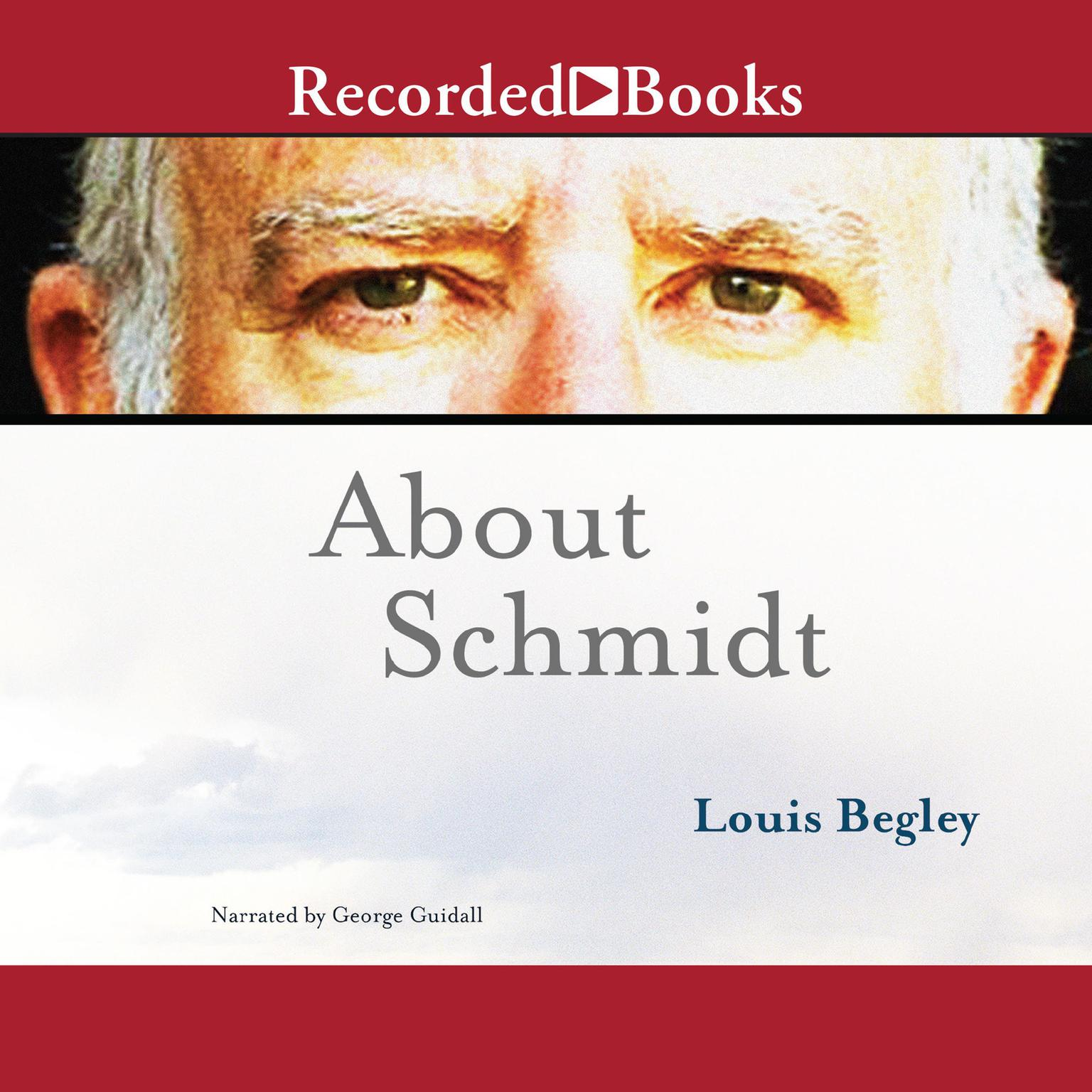 Printable About Schmidt Audiobook Cover Art