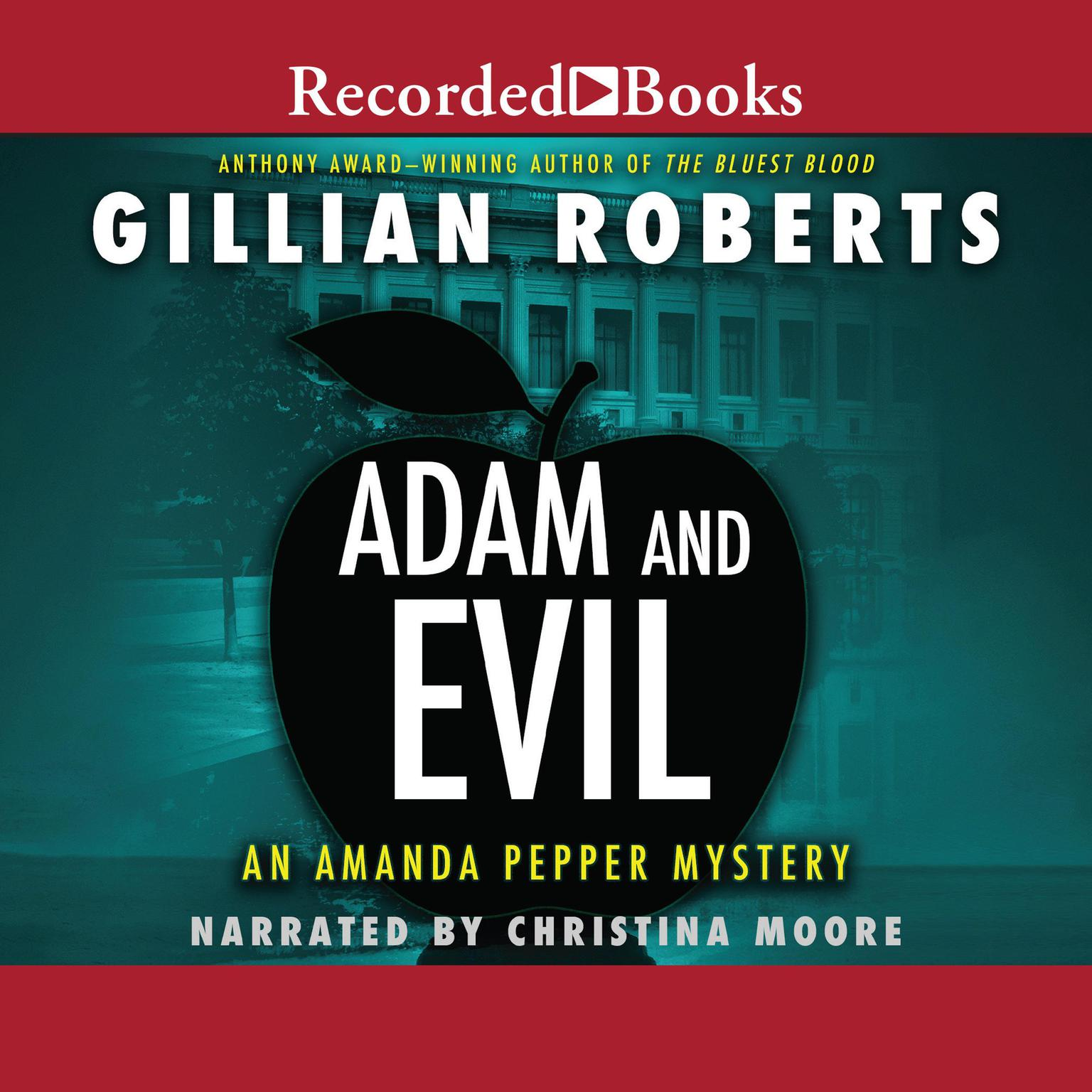 Printable Adam and Evil Audiobook Cover Art