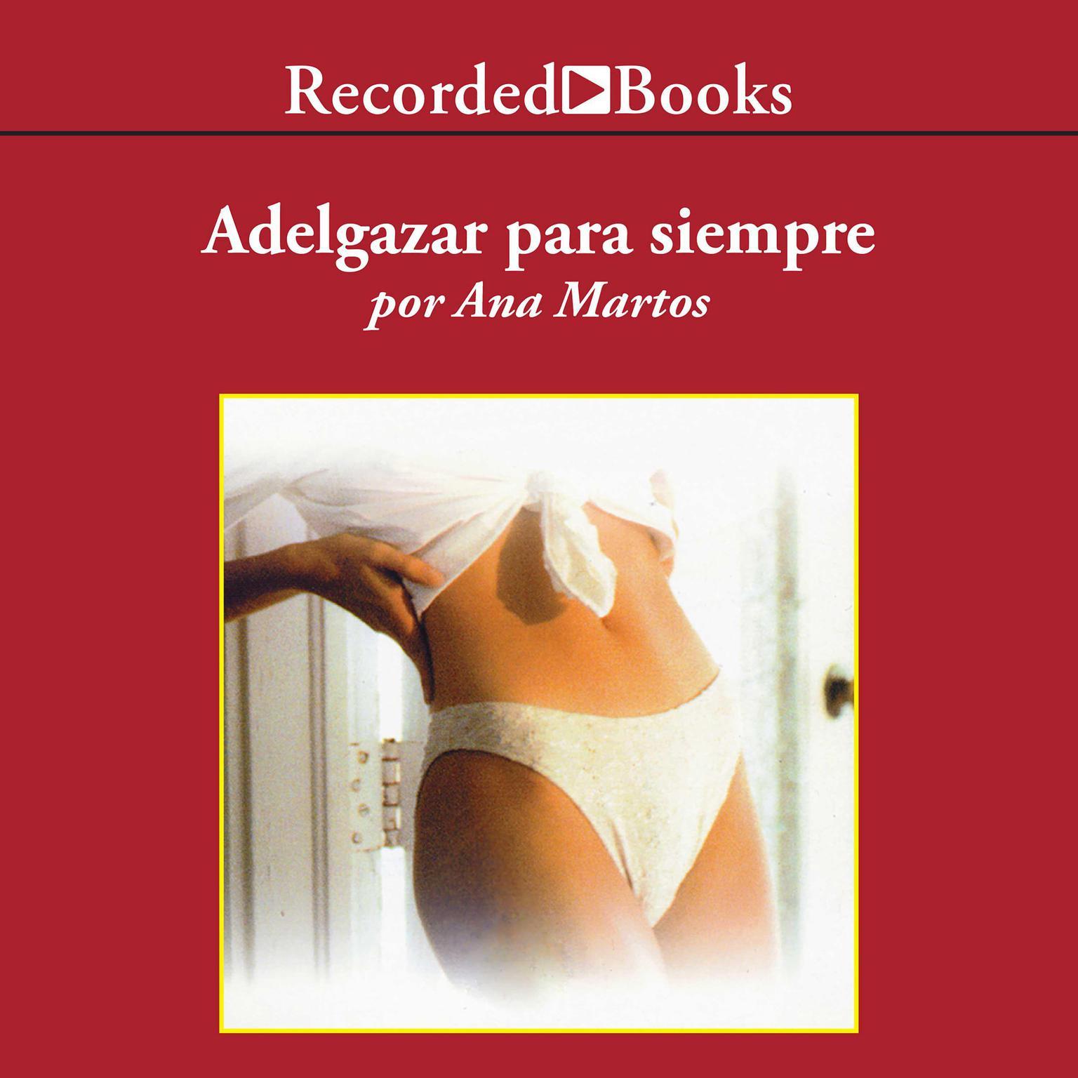Printable Adelgazar para siempre Audiobook Cover Art