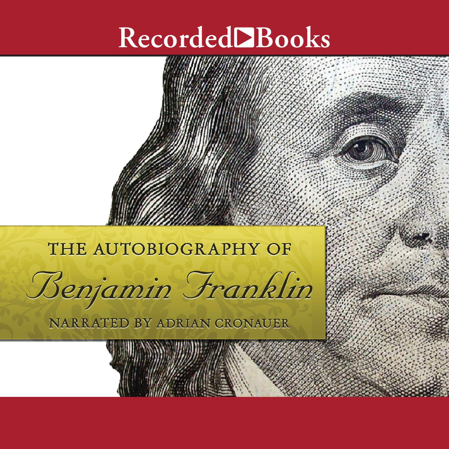 Printable The Autobiography of Benjamin Franklin Audiobook Cover Art