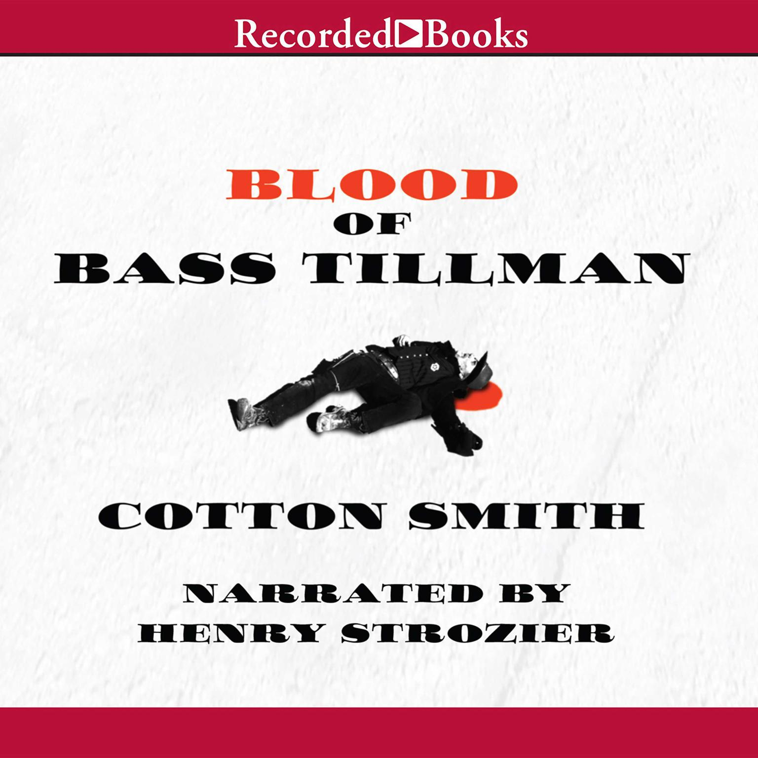 Printable Blood of Bass Tillman Audiobook Cover Art