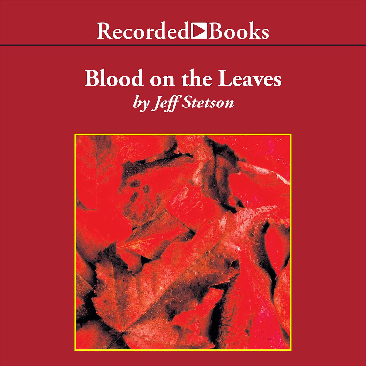 Printable Blood on the Leaves Audiobook Cover Art