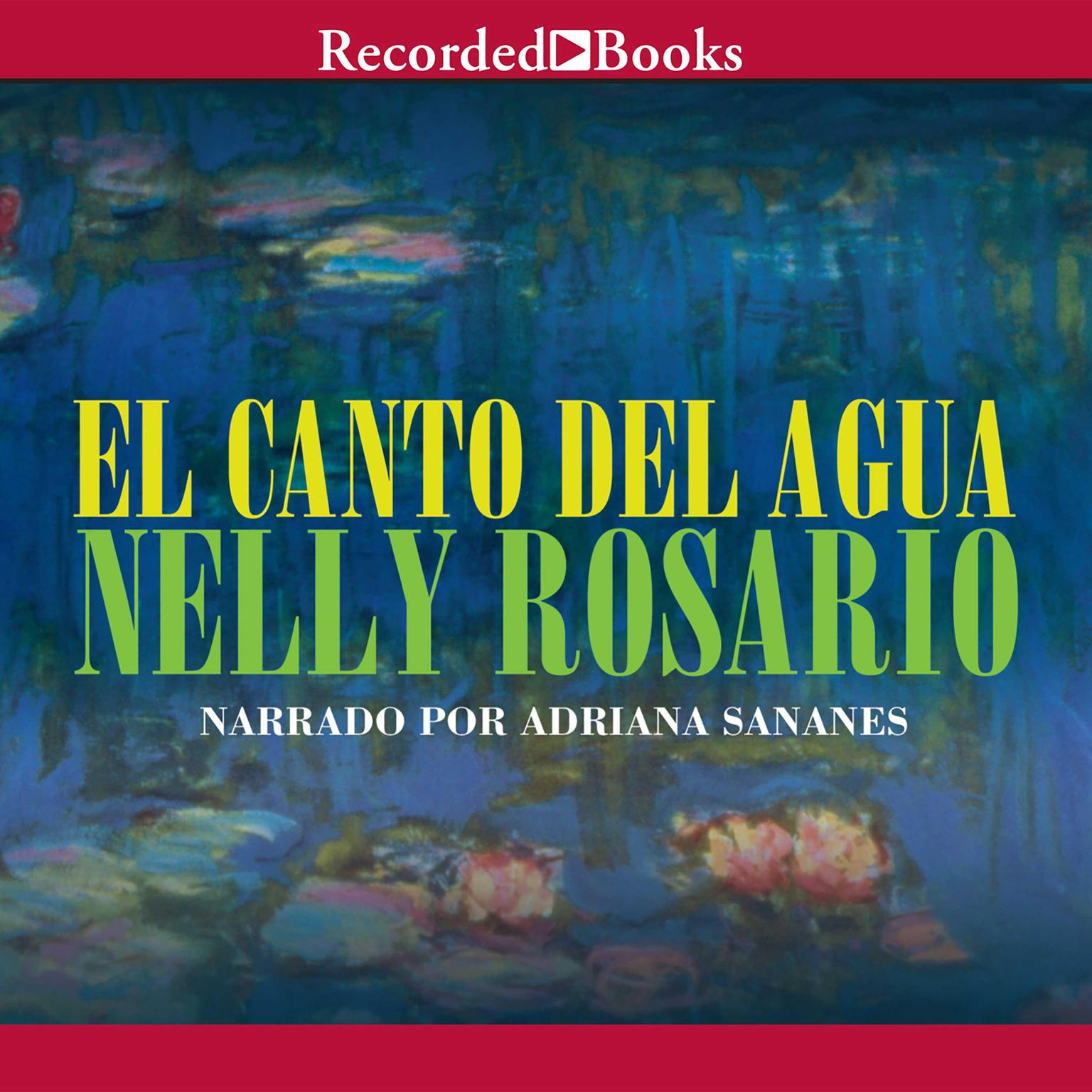 Printable El canto del agua Audiobook Cover Art