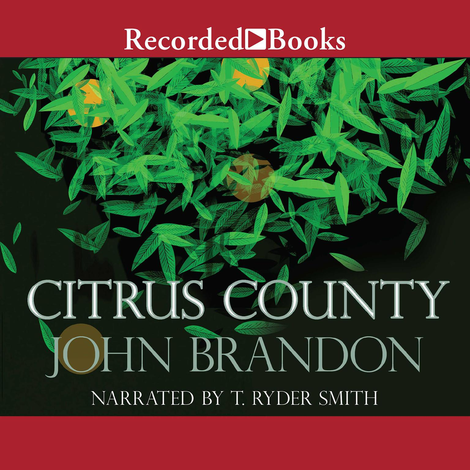 Printable Citrus County Audiobook Cover Art