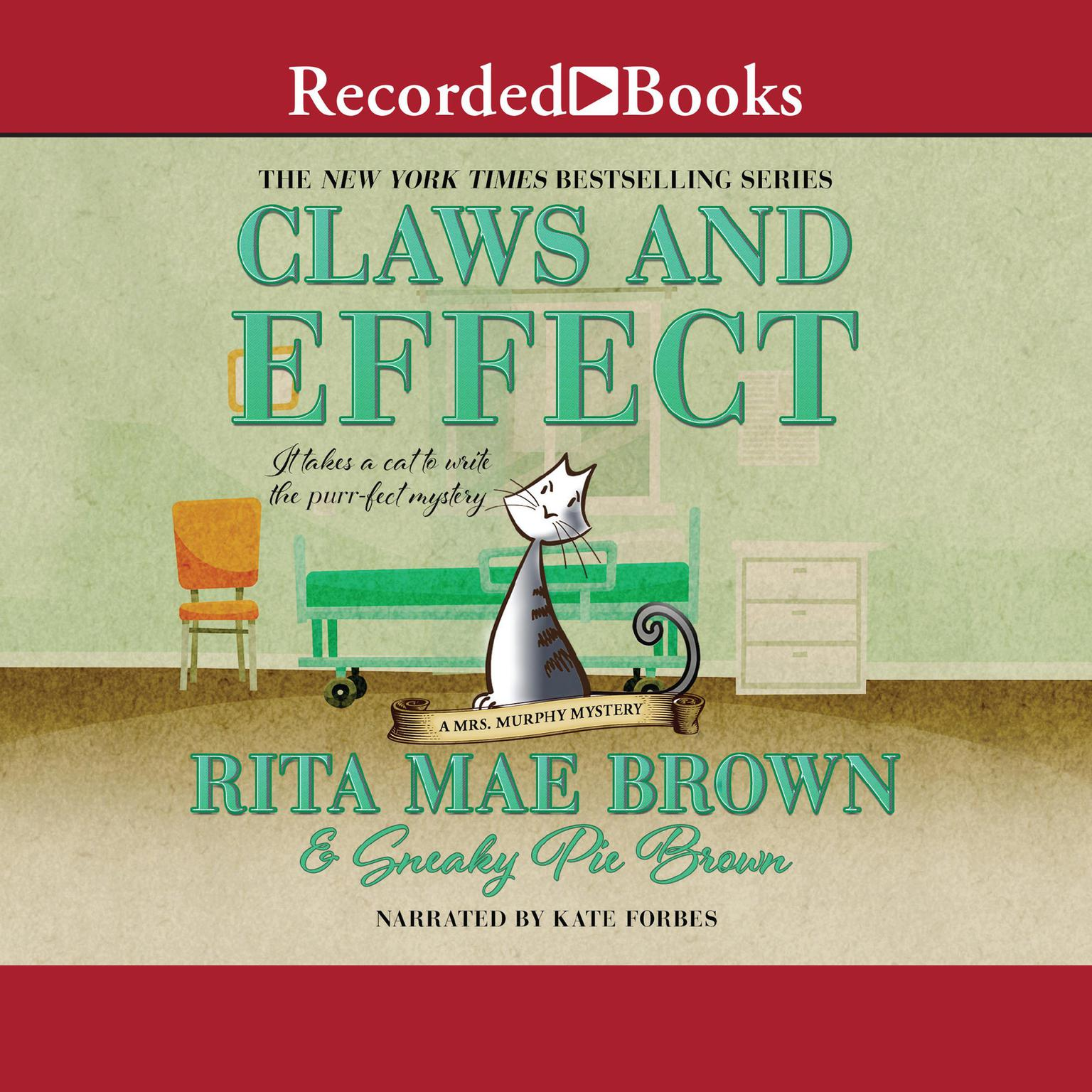 Printable Claws and Effect Audiobook Cover Art
