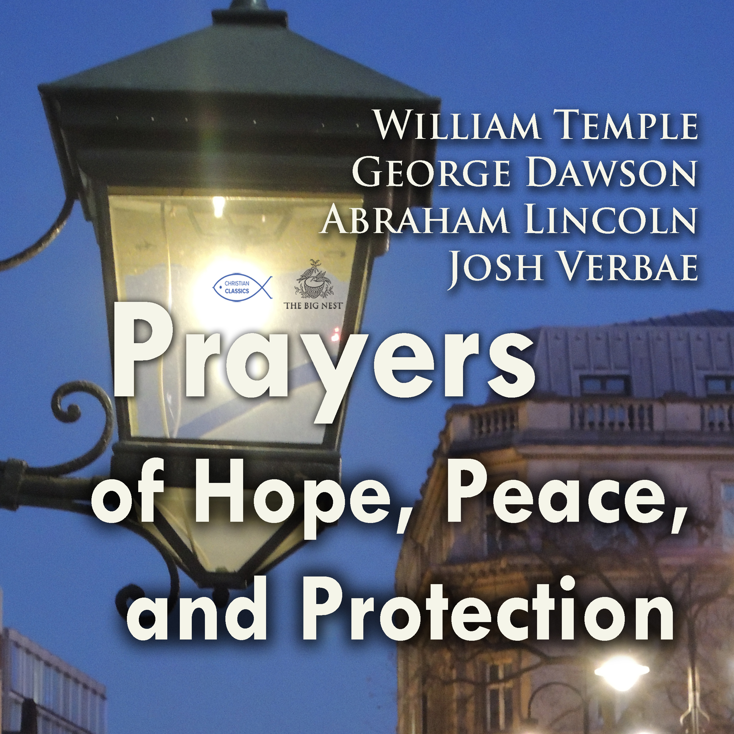 Printable Prayers of Hope, Peace, and Protection Audiobook Cover Art
