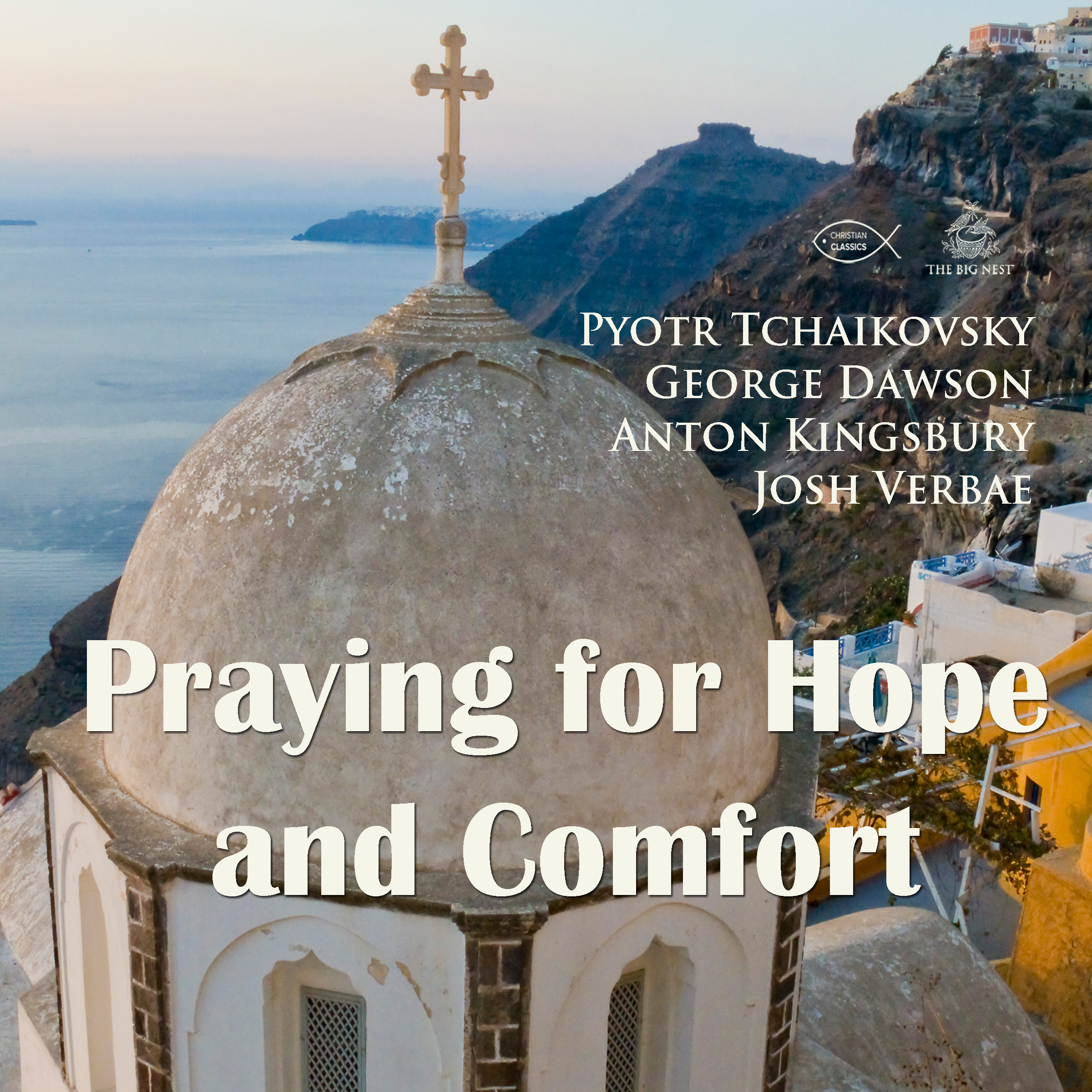 Printable Praying for Hope and Comfort Audiobook Cover Art