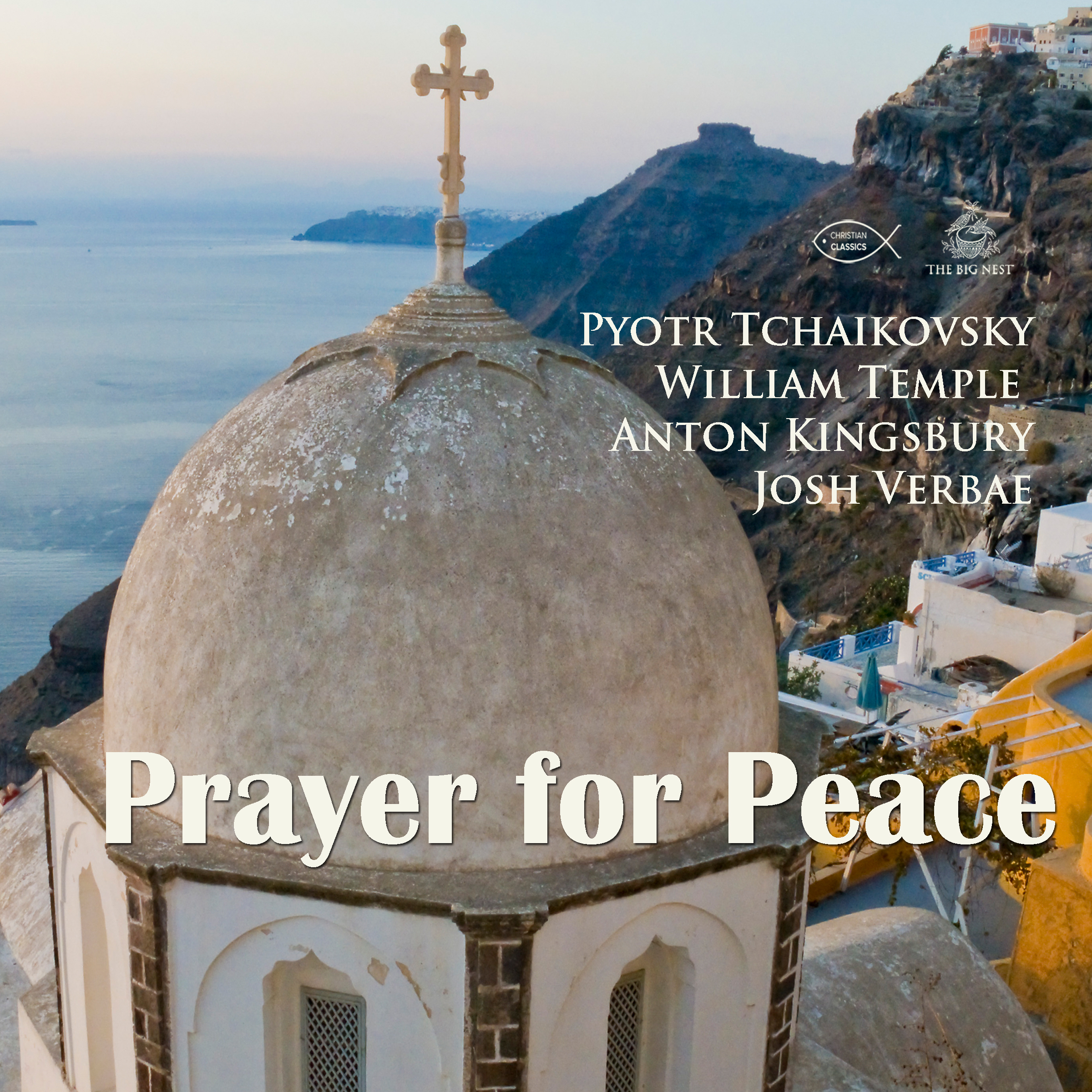 Printable Prayer for Peace Audiobook Cover Art