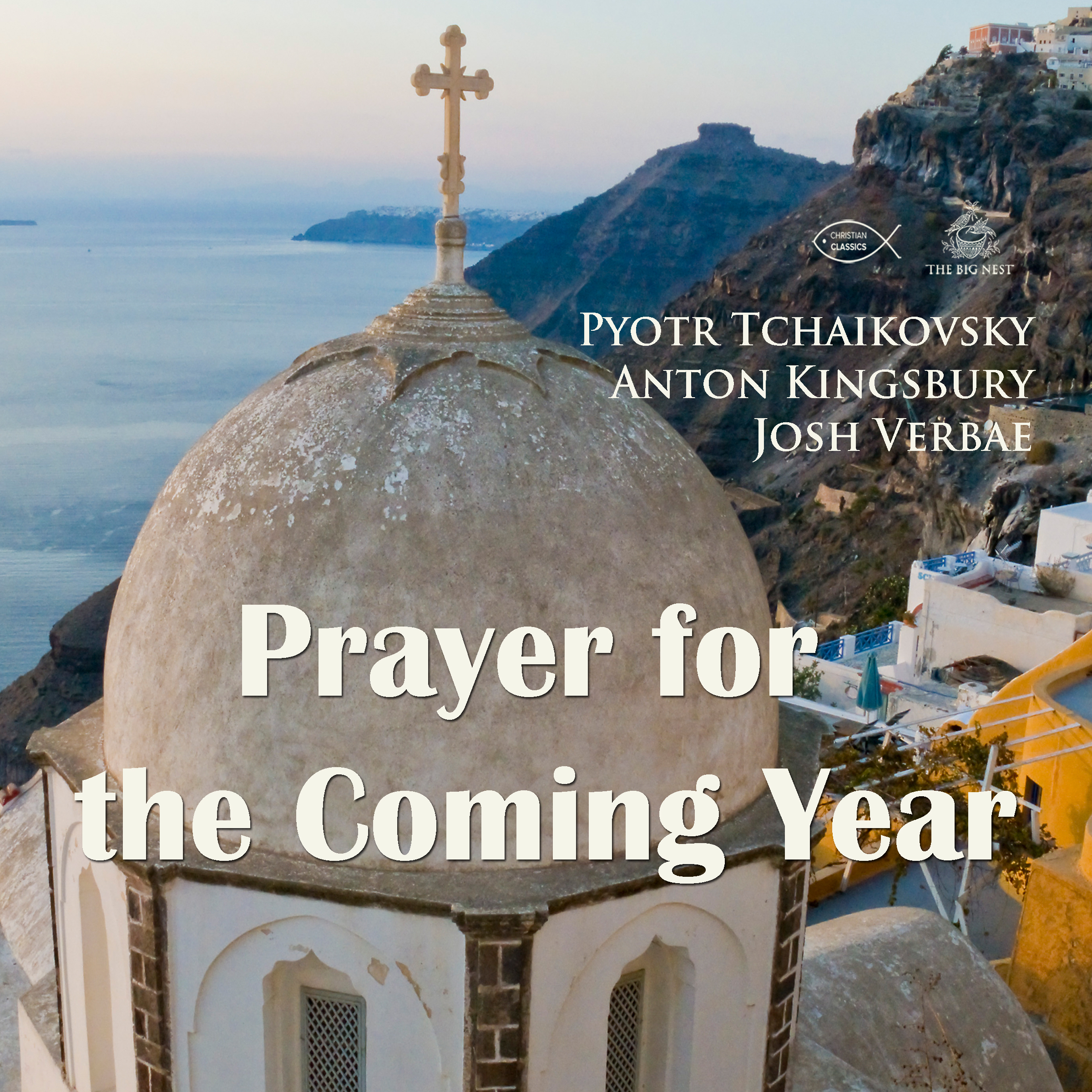 Printable Prayer for the Coming Year Audiobook Cover Art