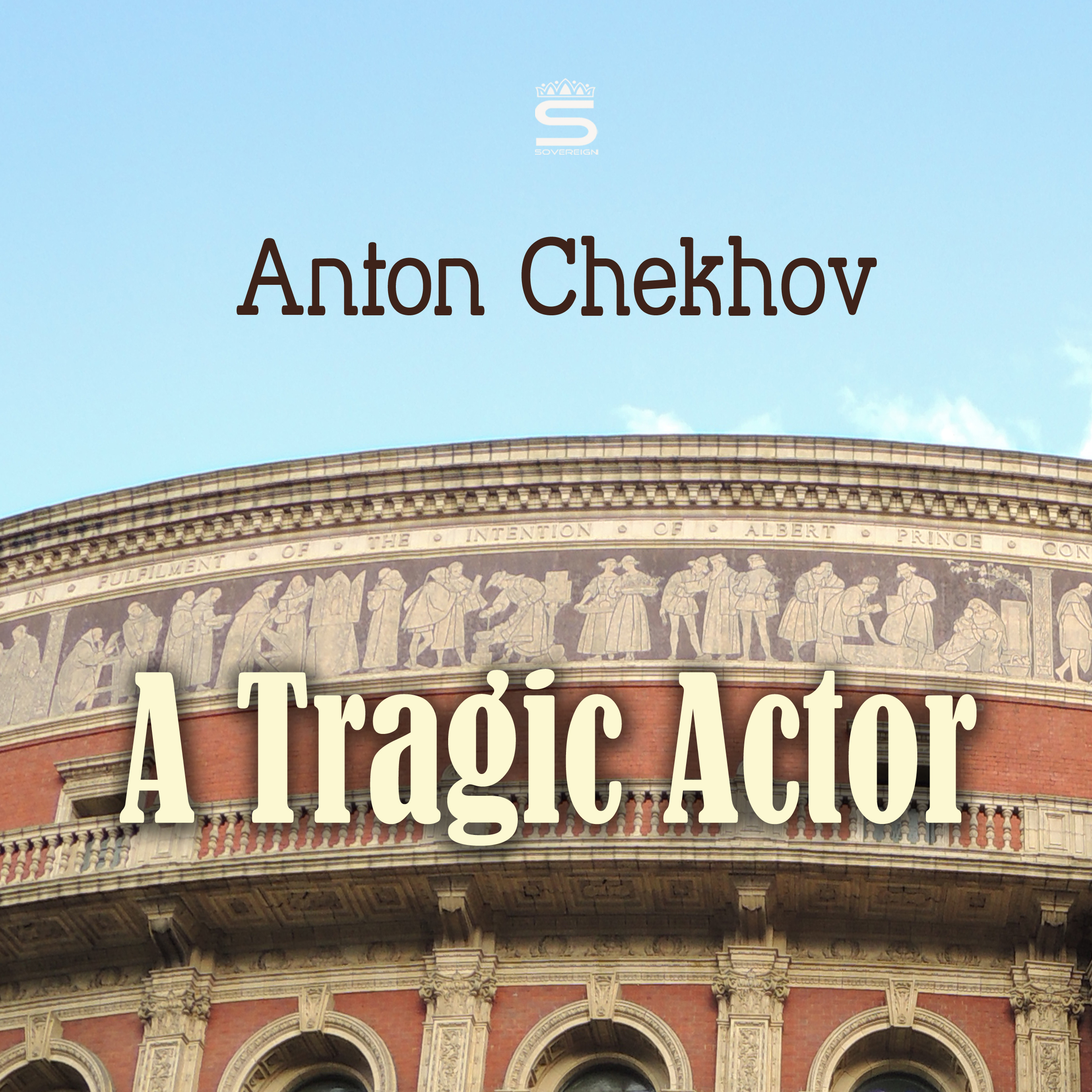 Printable A Tragic Actor Audiobook Cover Art