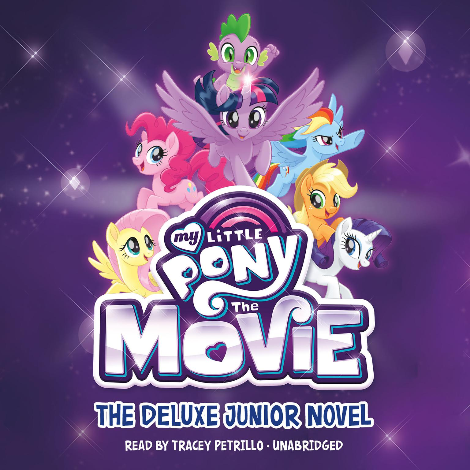 Printable My Little Pony: The Movie: The Junior Novel Audiobook Cover Art