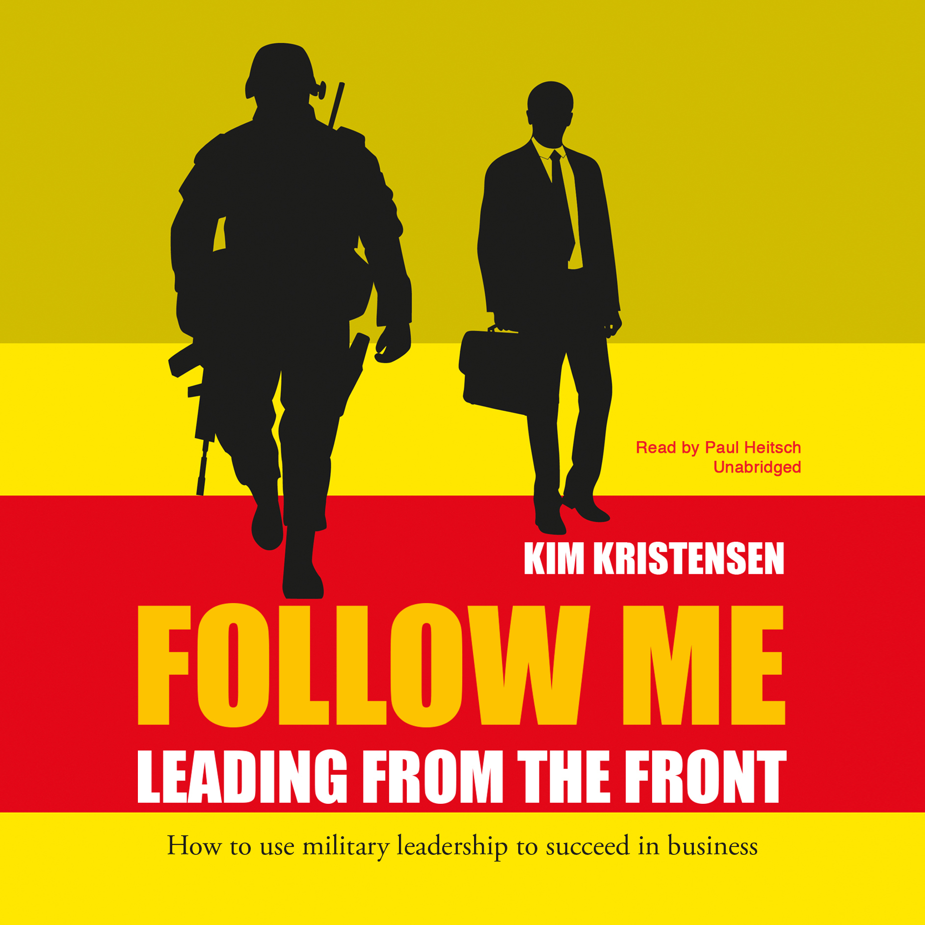 Printable Follow Me: Leading from the Front Audiobook Cover Art