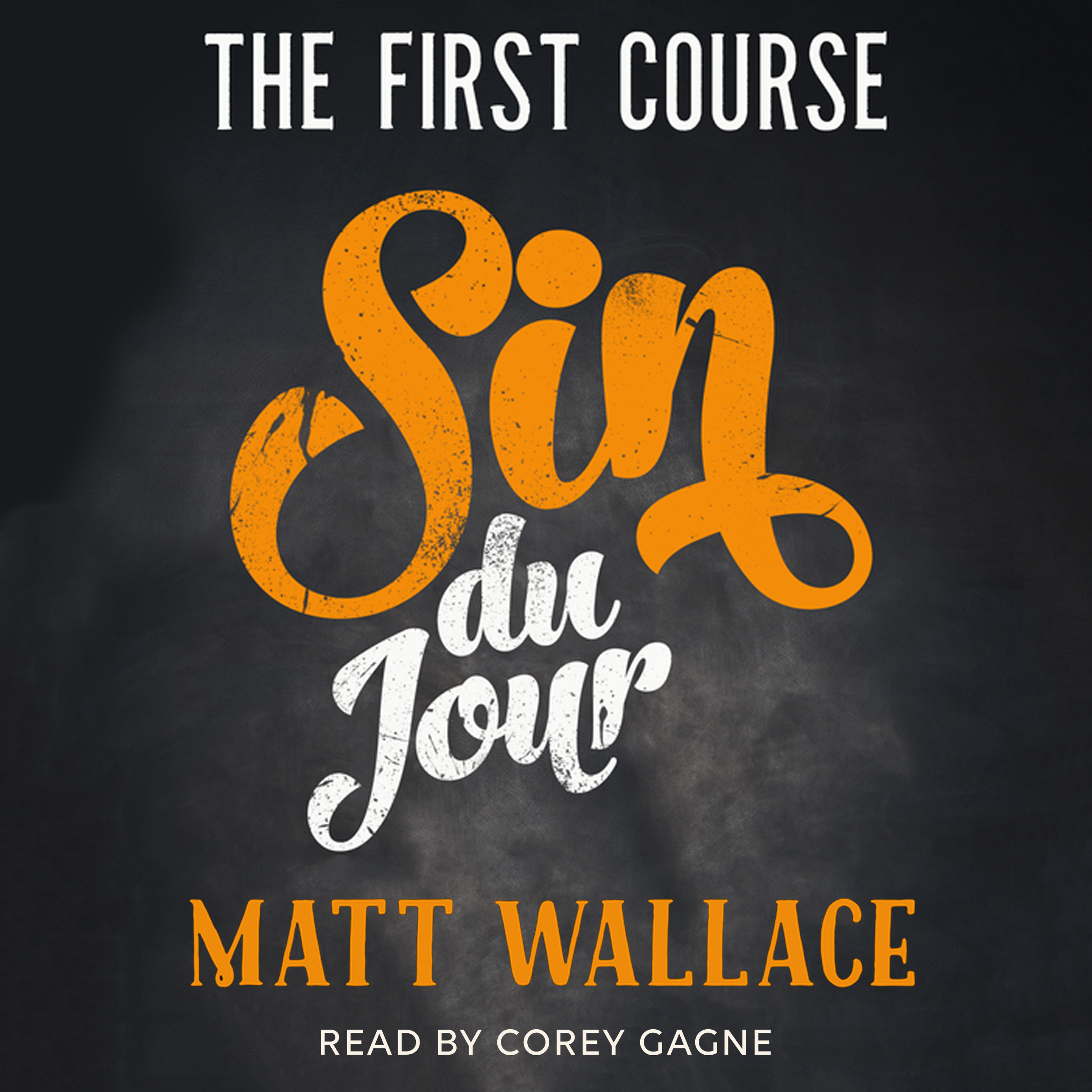Printable Sin du Jour: The First Course Audiobook Cover Art