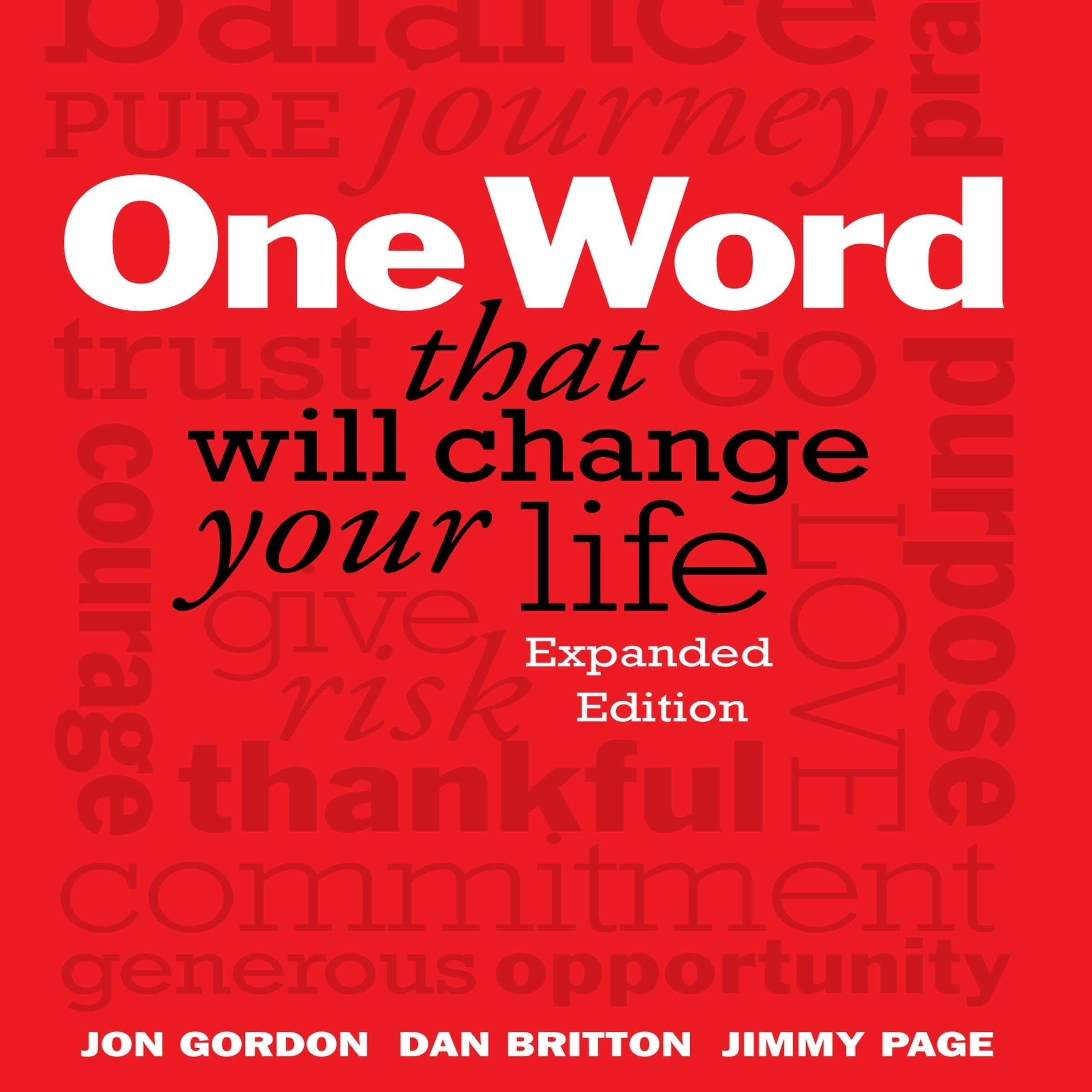 Printable One Word That Will Change Your Life: Expanded Edition Audiobook Cover Art