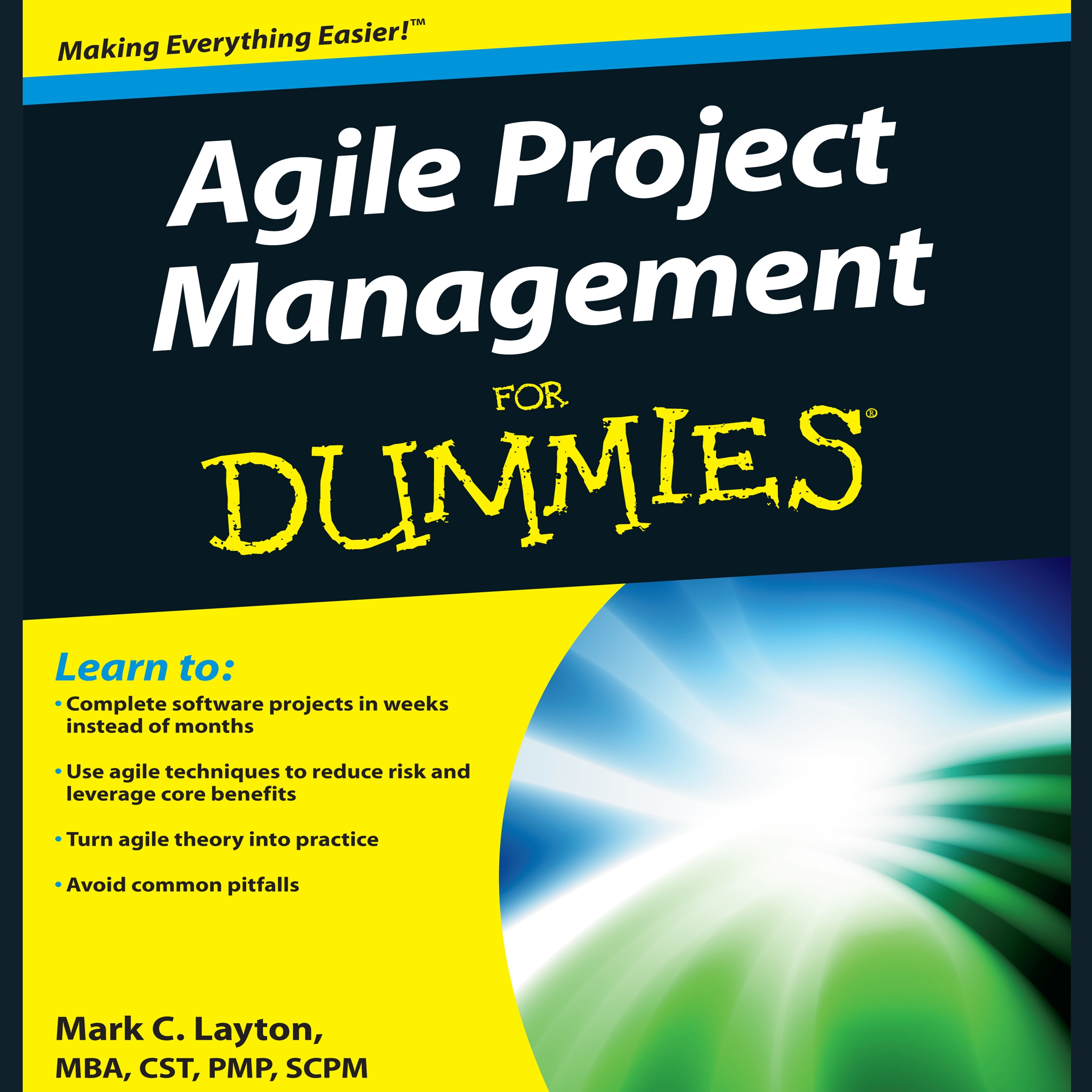 Printable Agile Project Management for Dummies Audiobook Cover Art