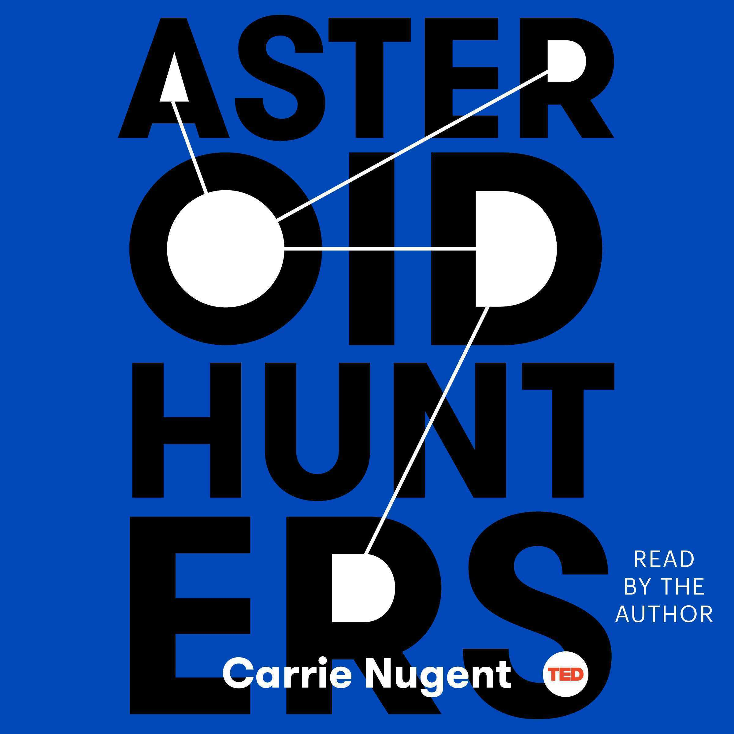 Printable Asteroid Hunters Audiobook Cover Art
