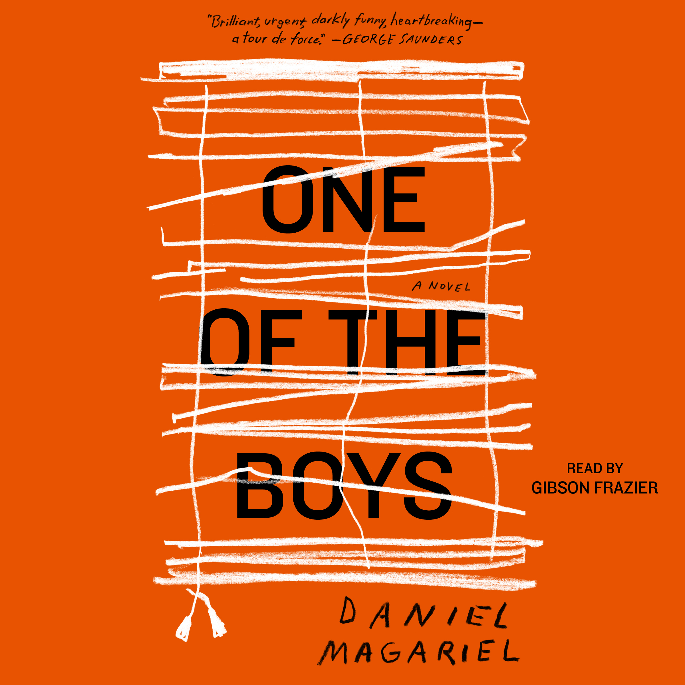 Printable One of the Boys Audiobook Cover Art