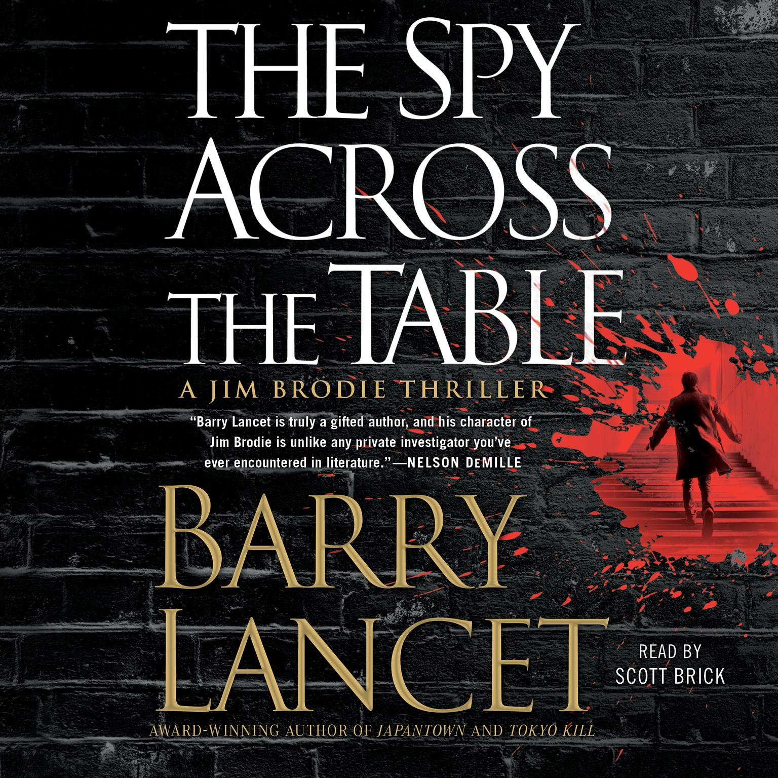 Printable The Spy Across the Table Audiobook Cover Art