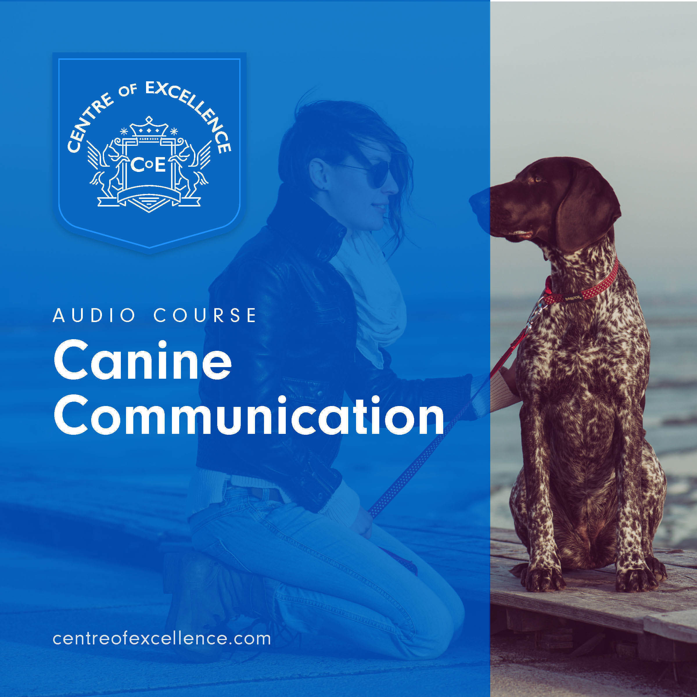 Printable Canine Communication Audiobook Cover Art
