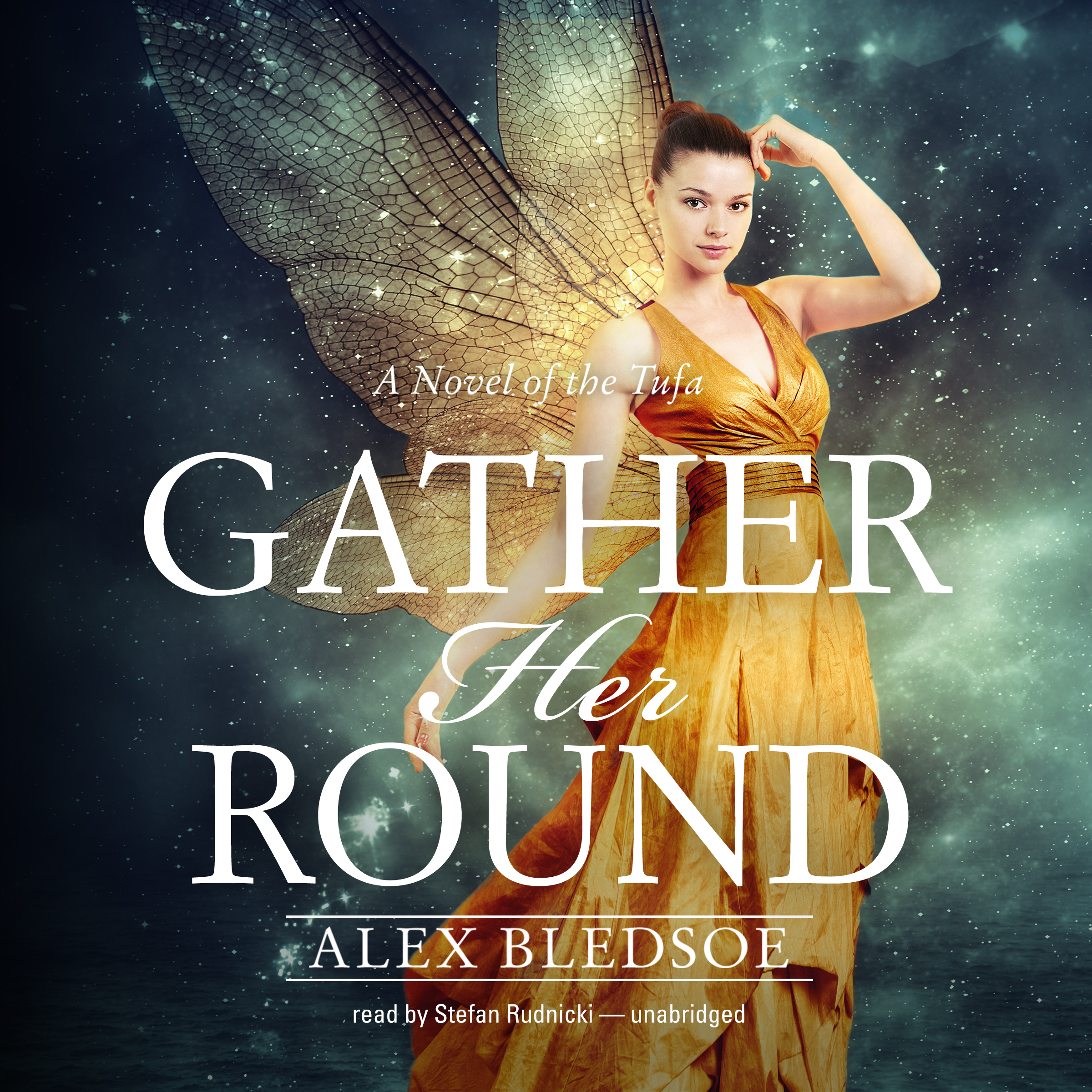 Printable Gather Her Round Audiobook Cover Art