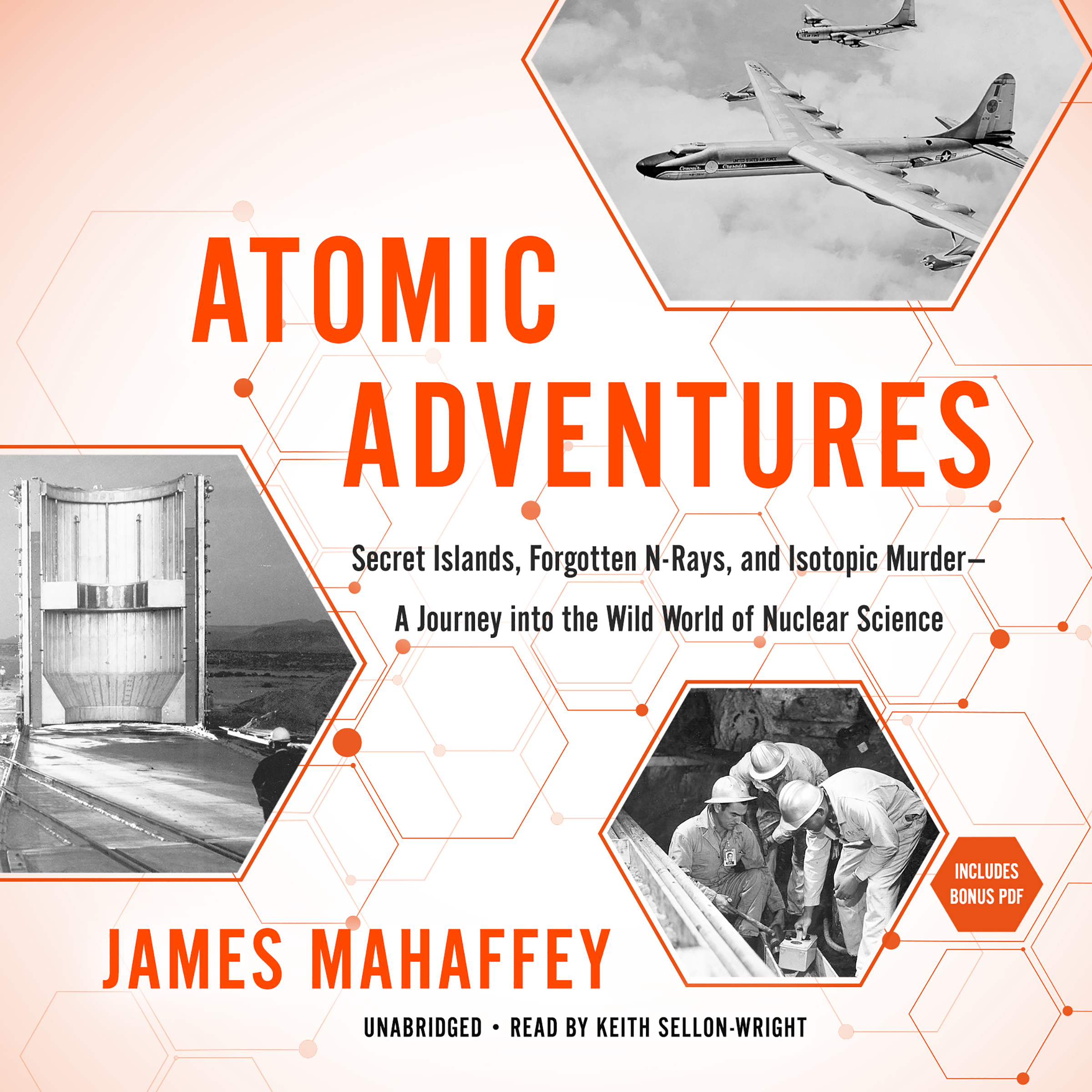 Printable Atomic Adventures: Secret Islands, Forgotten N-Rays, and Isotopic Murder—A Journey into the Wild World of Nuclear Science Audiobook Cover Art
