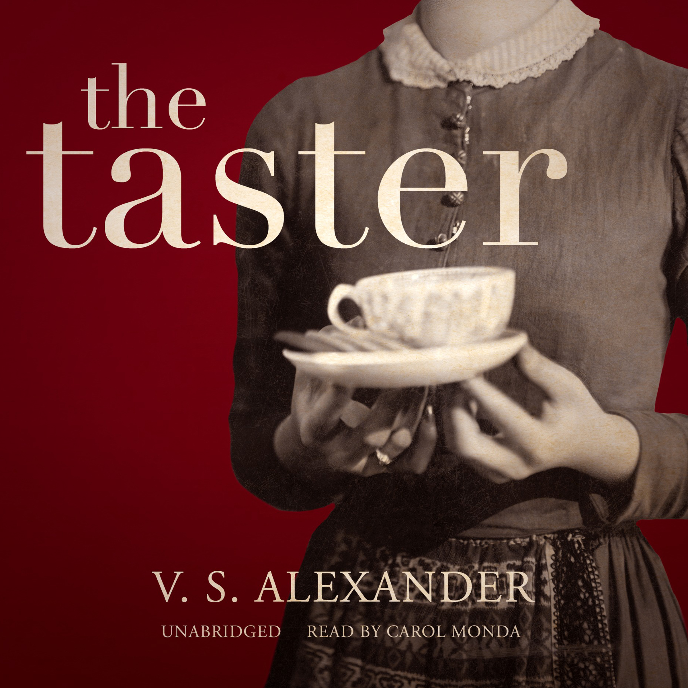 Printable The Taster  Audiobook Cover Art
