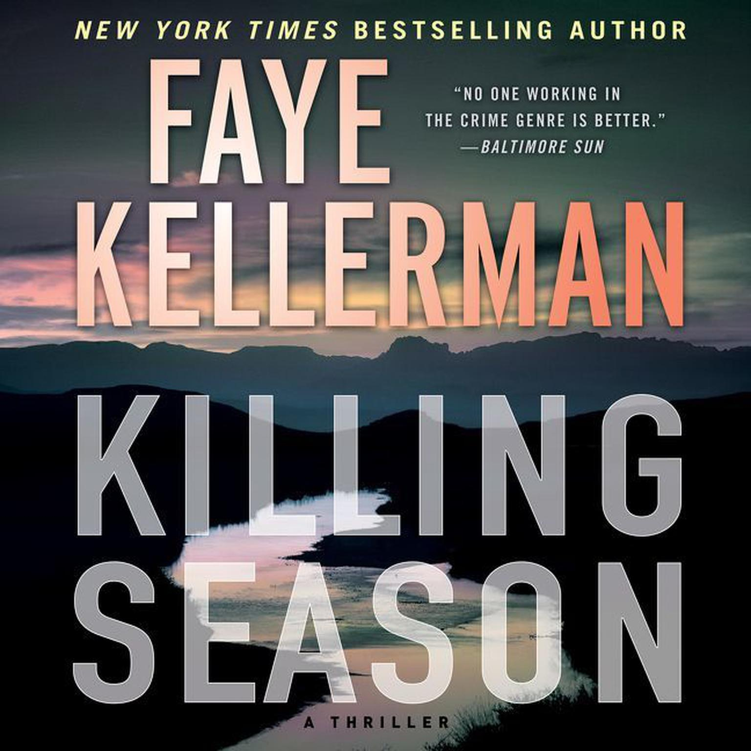 Printable Killing Season: A Thriller Audiobook Cover Art