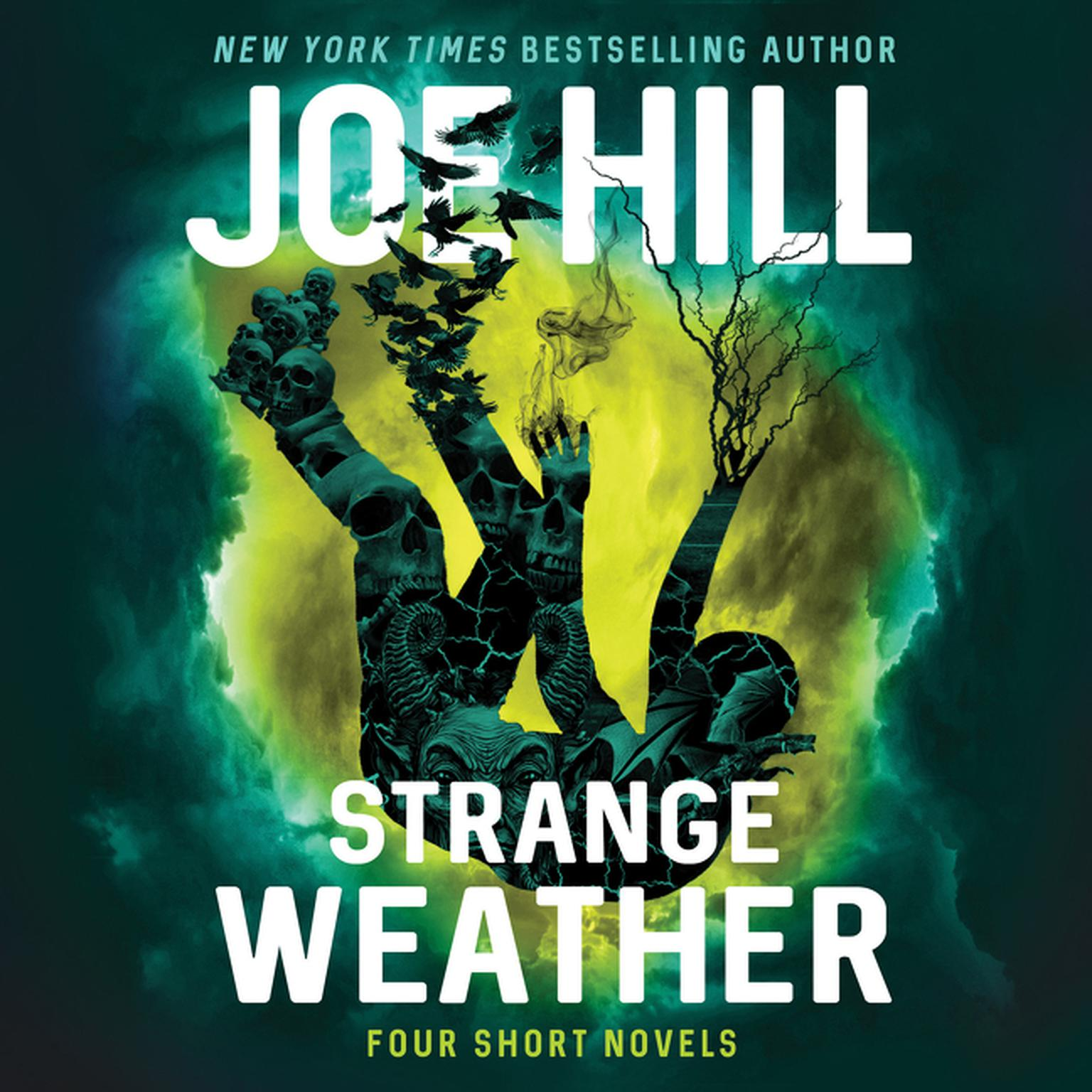 Printable Strange Weather: Four Novellas Audiobook Cover Art
