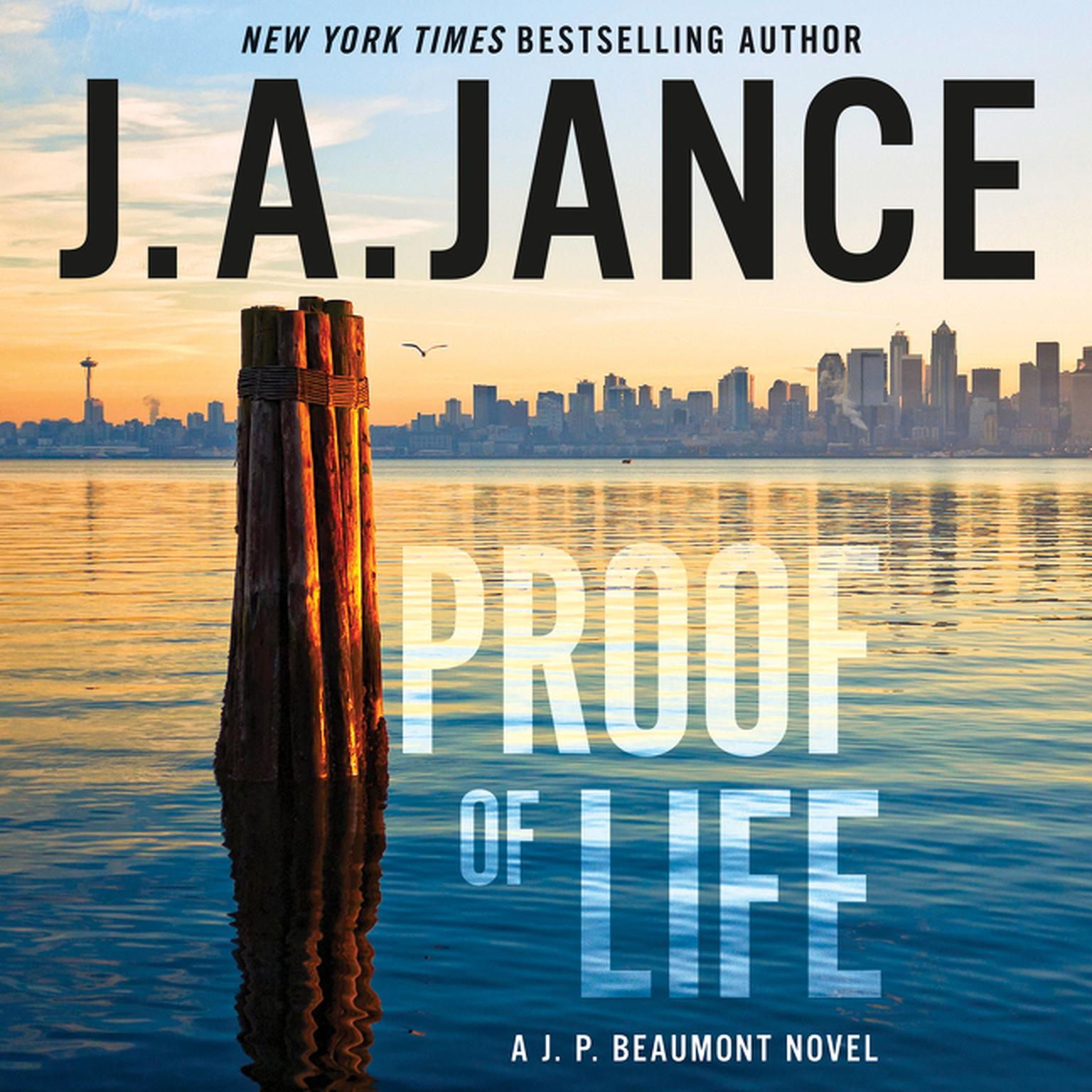 Printable Proof of Life: A J. P. Beaumont Novel Audiobook Cover Art