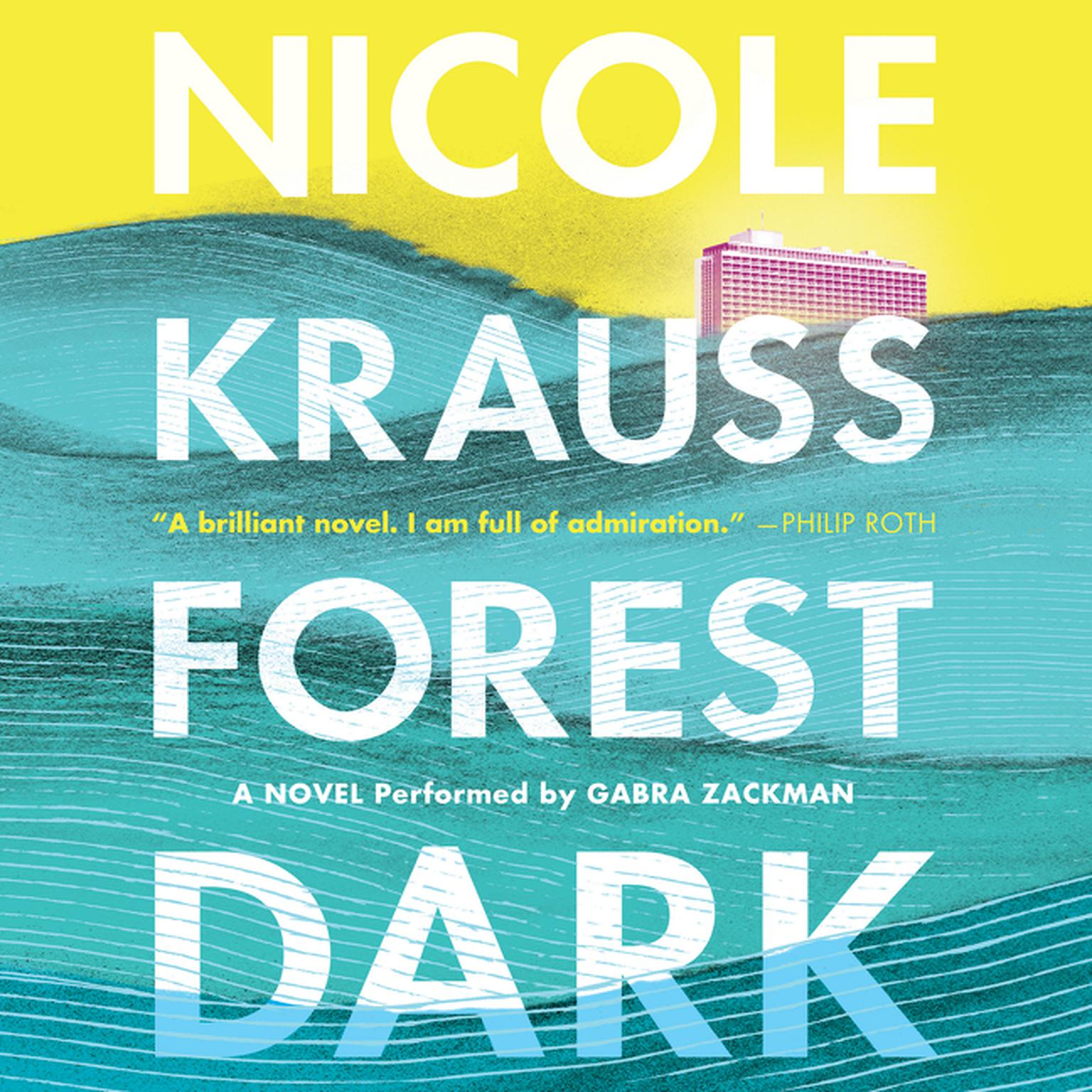 Printable Forest Dark: A Novel Audiobook Cover Art
