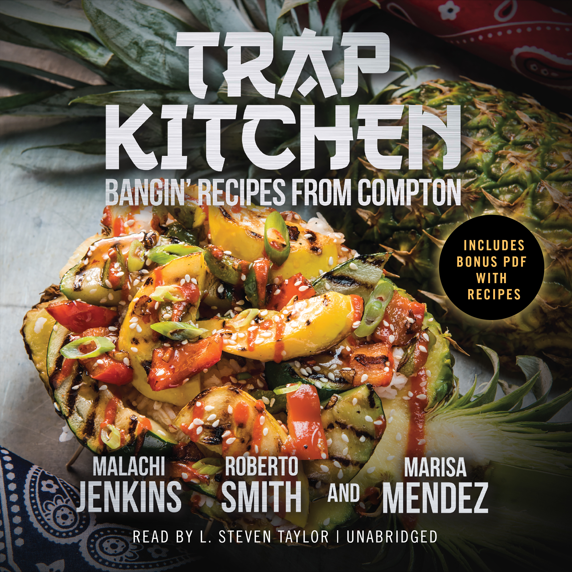 Printable Trap Kitchen Audiobook Cover Art