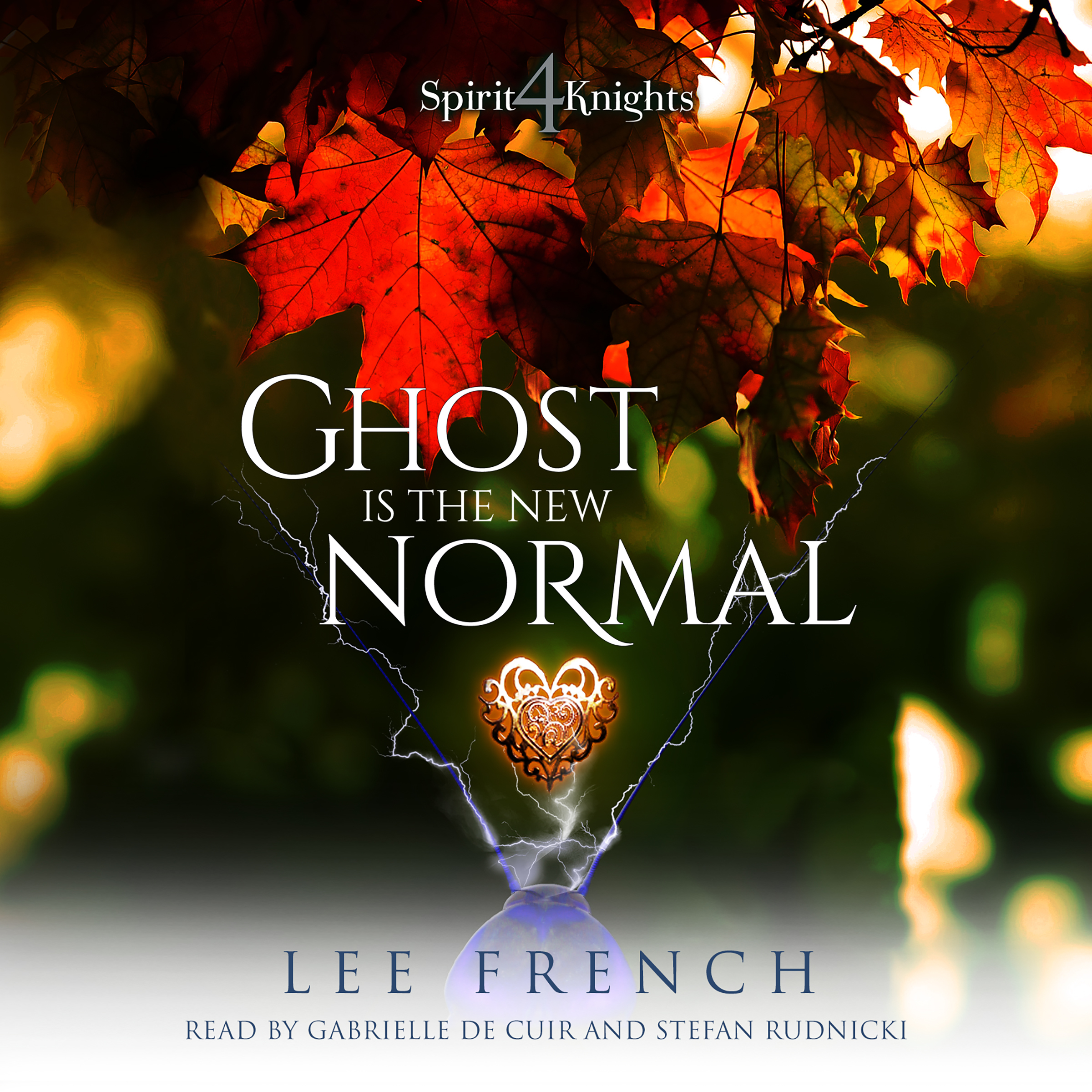 Printable Ghost Is the New Normal Audiobook Cover Art