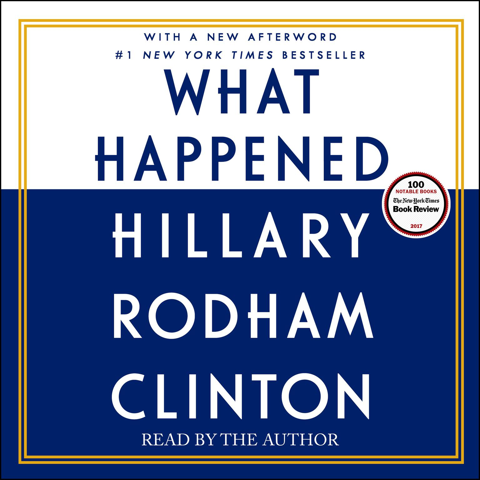 Printable What Happened Audiobook Cover Art