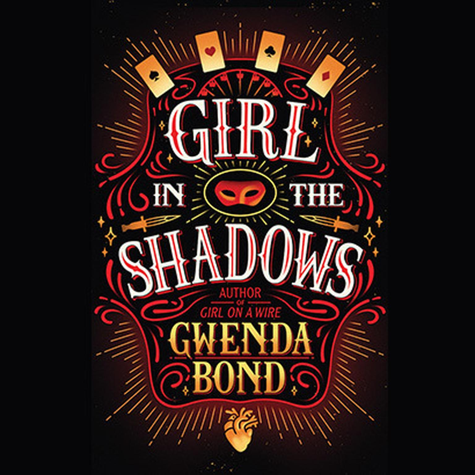 Printable Girl in the Shadows Audiobook Cover Art