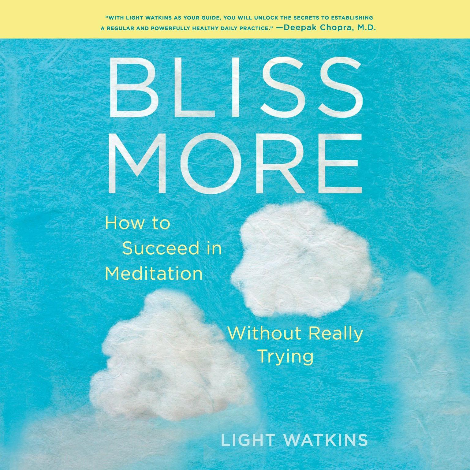 Printable Bliss More: How to Succeed in Meditation Without Really Trying Audiobook Cover Art