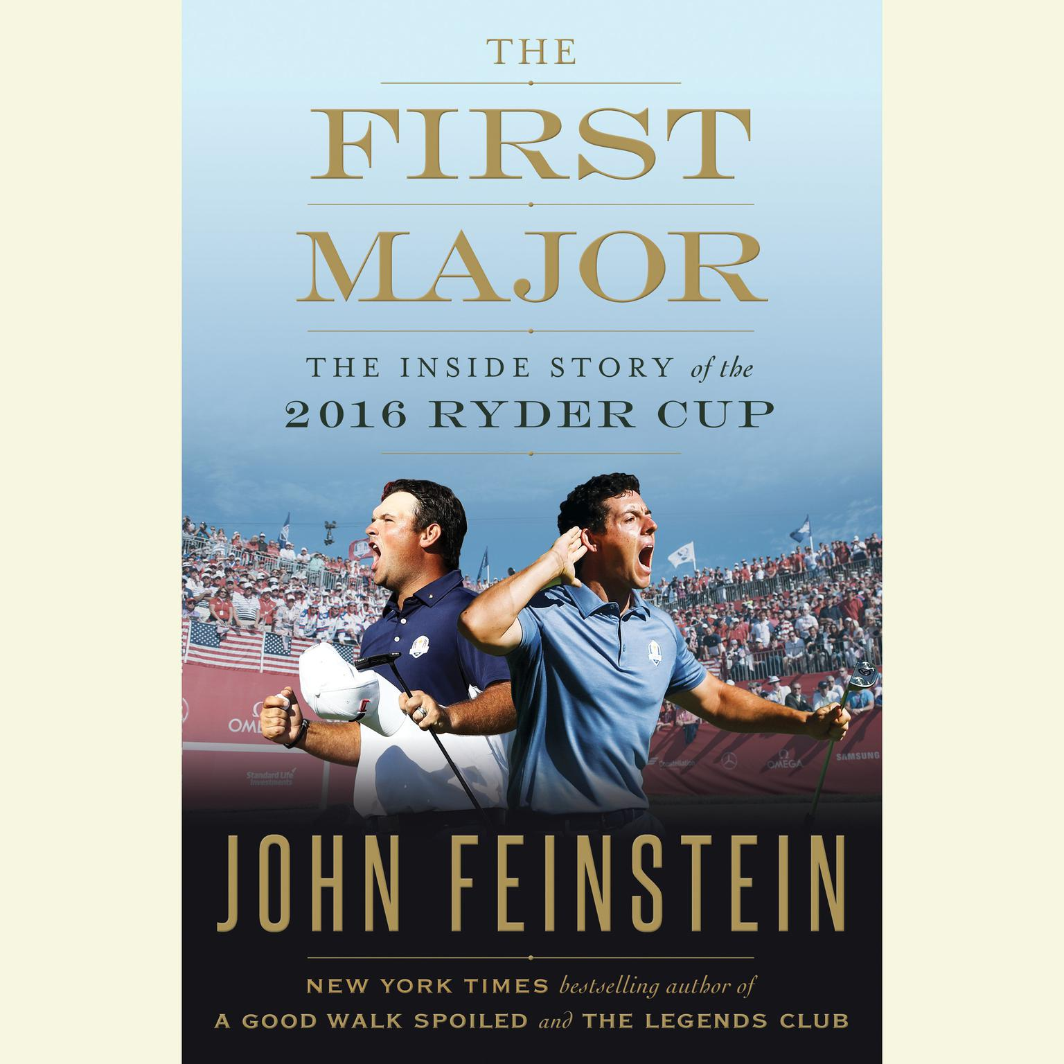 Printable The First Major: The Inside Story of the 2016 Ryder Cup Audiobook Cover Art