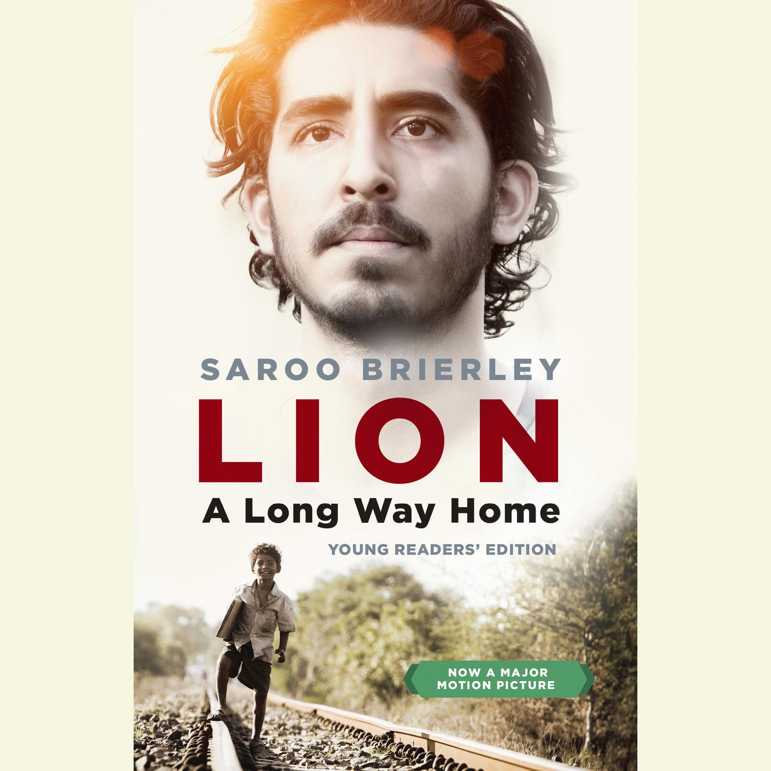 Printable Lion: A Long Way Home Young Readers' Edition Audiobook Cover Art