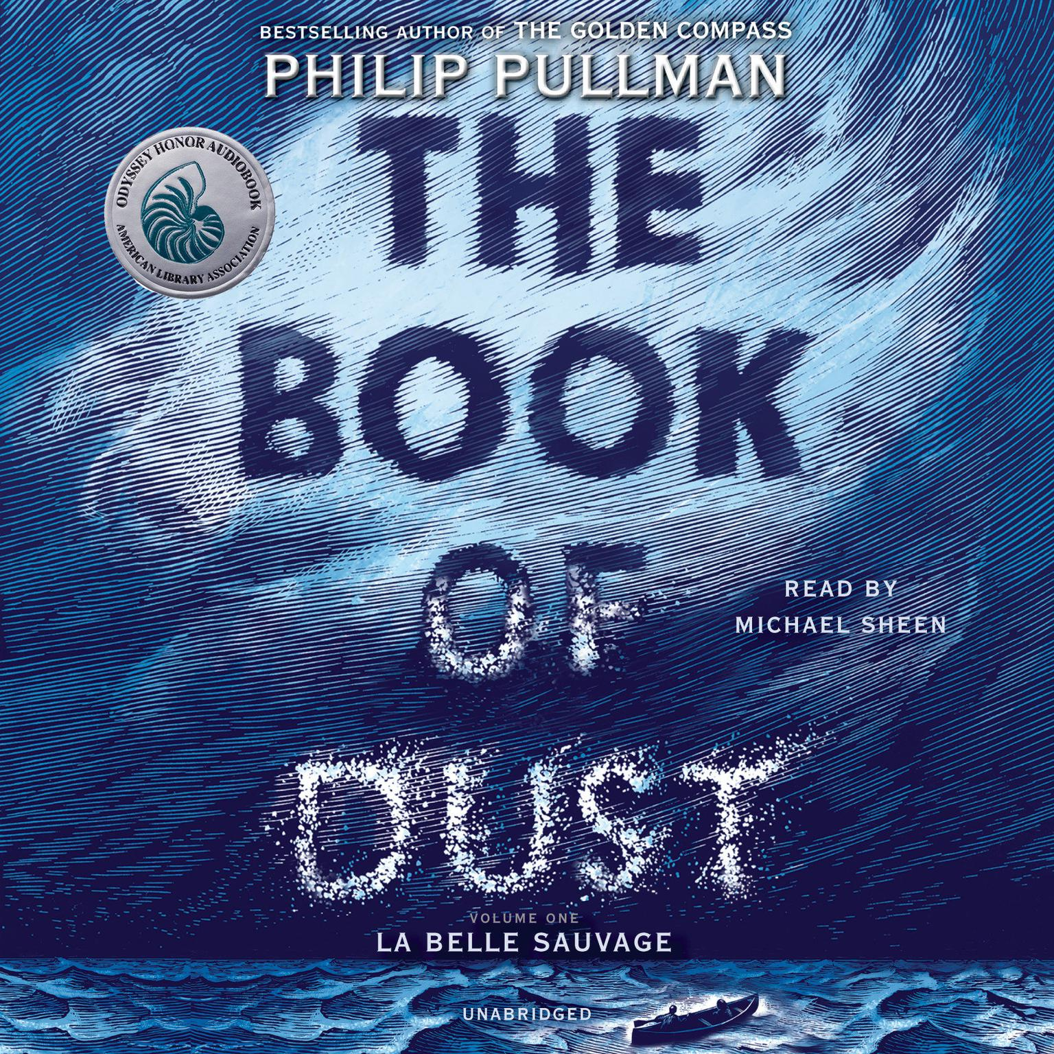 Printable The Book of Dust:  La Belle Sauvage Audiobook Cover Art