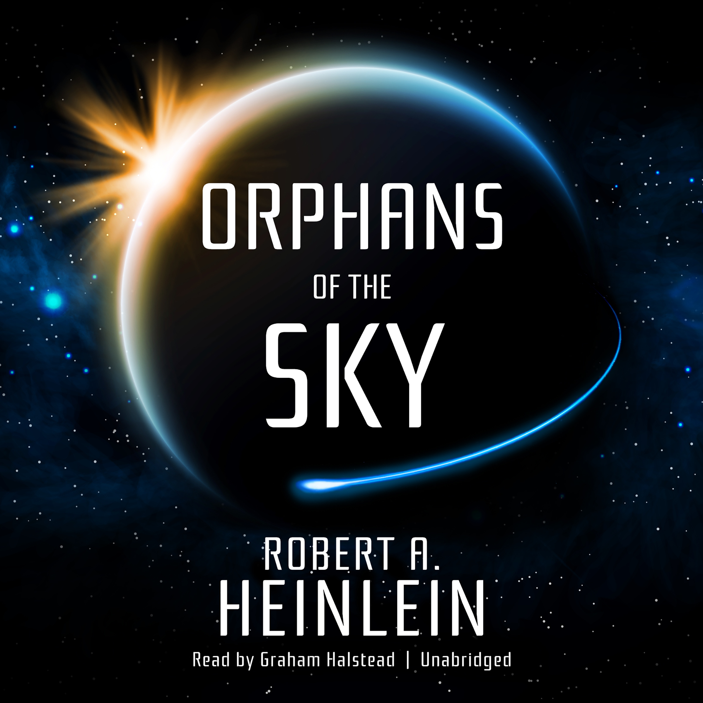Printable Orphans of the Sky Audiobook Cover Art