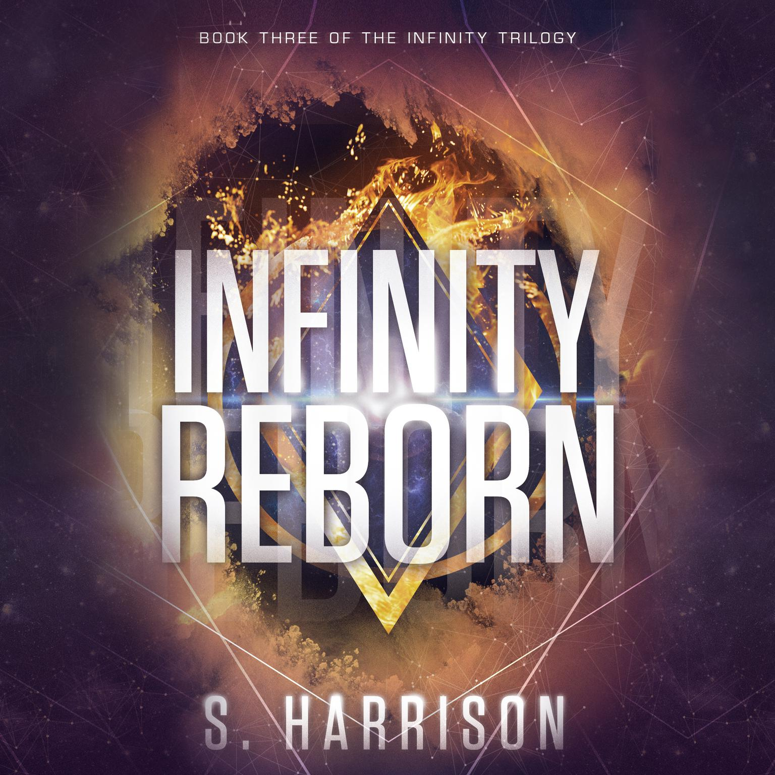 Printable Infinity Reborn Audiobook Cover Art