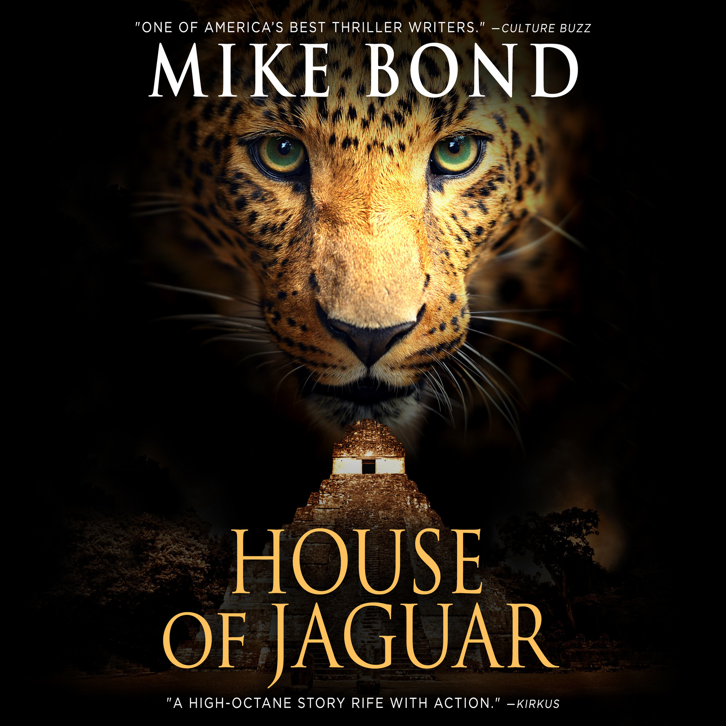 Printable House of Jaguar Audiobook Cover Art