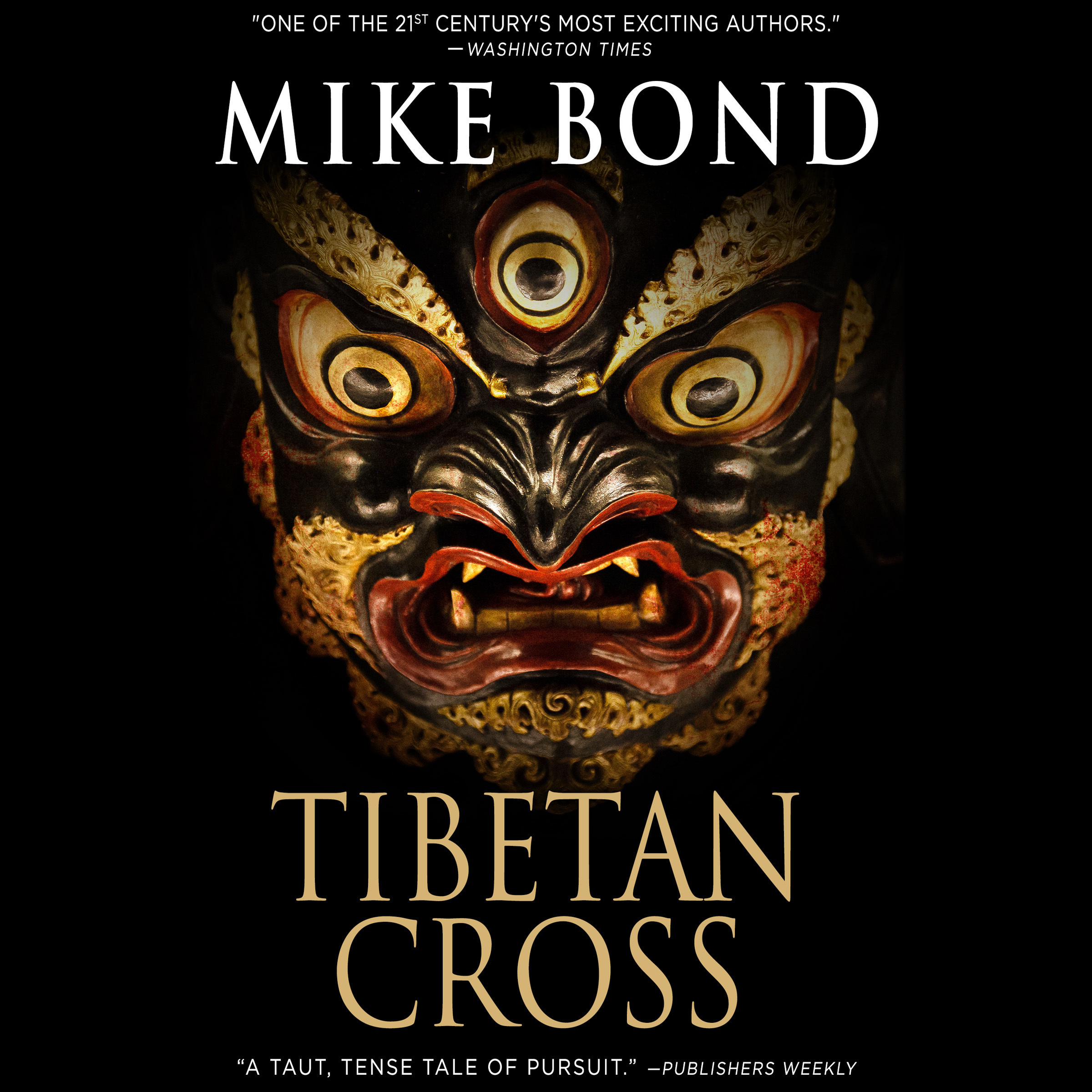Printable Tibetan Cross Audiobook Cover Art